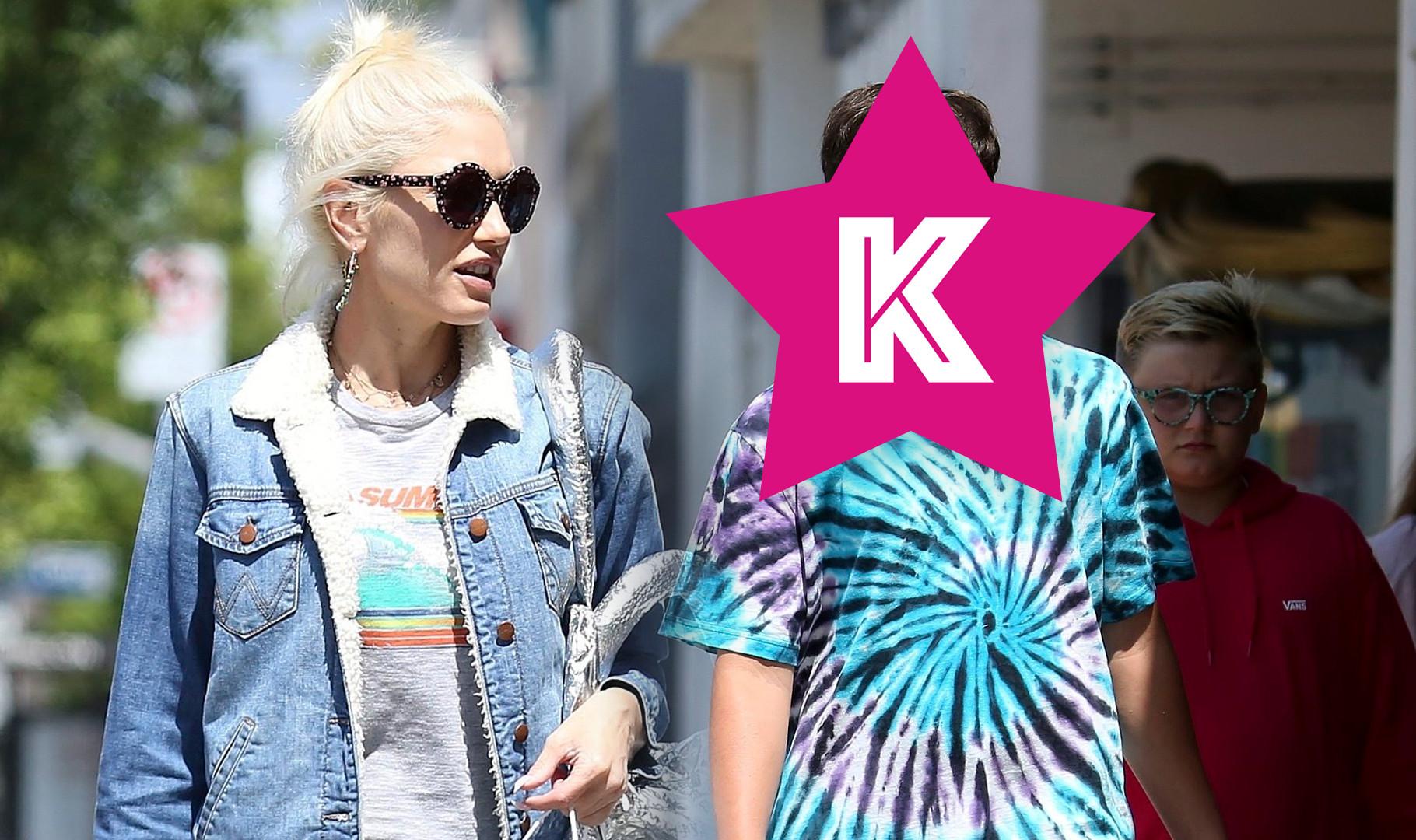Mama ubrana doskonale, a synowie? Dzieci Gwen Stefani mają dziwaczny styl (ZDJĘCIA)