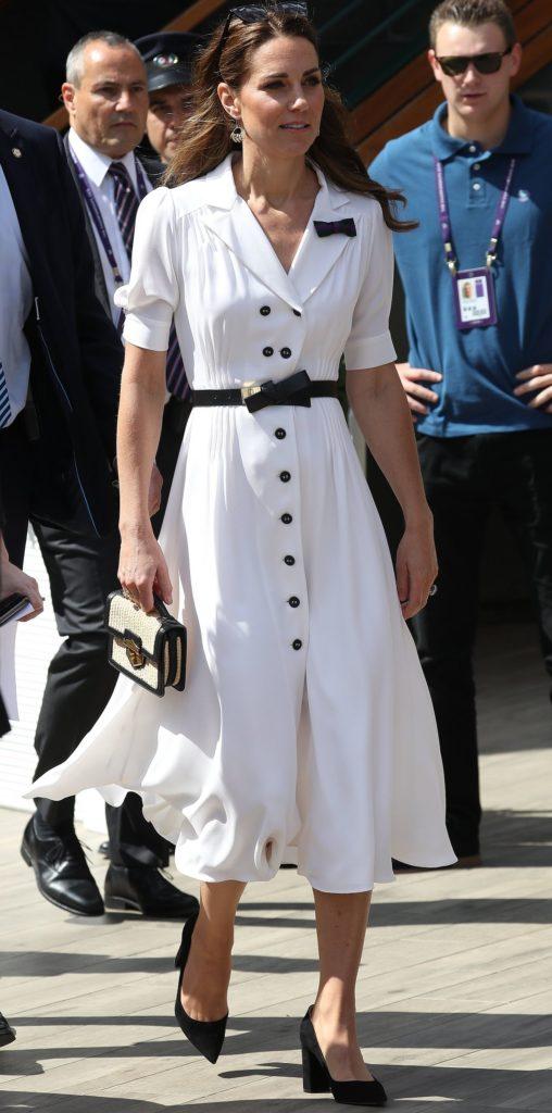 Księżna Kate na Wibledonie