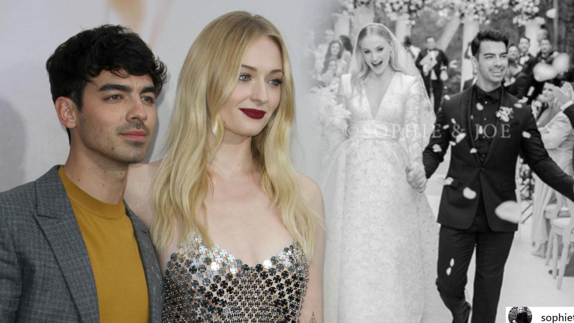 Sophie Turner miała PRZEPIĘKNĄ suknię! Pokazała oficjalne zdjęcia ze ślubu z Joe Jonasem