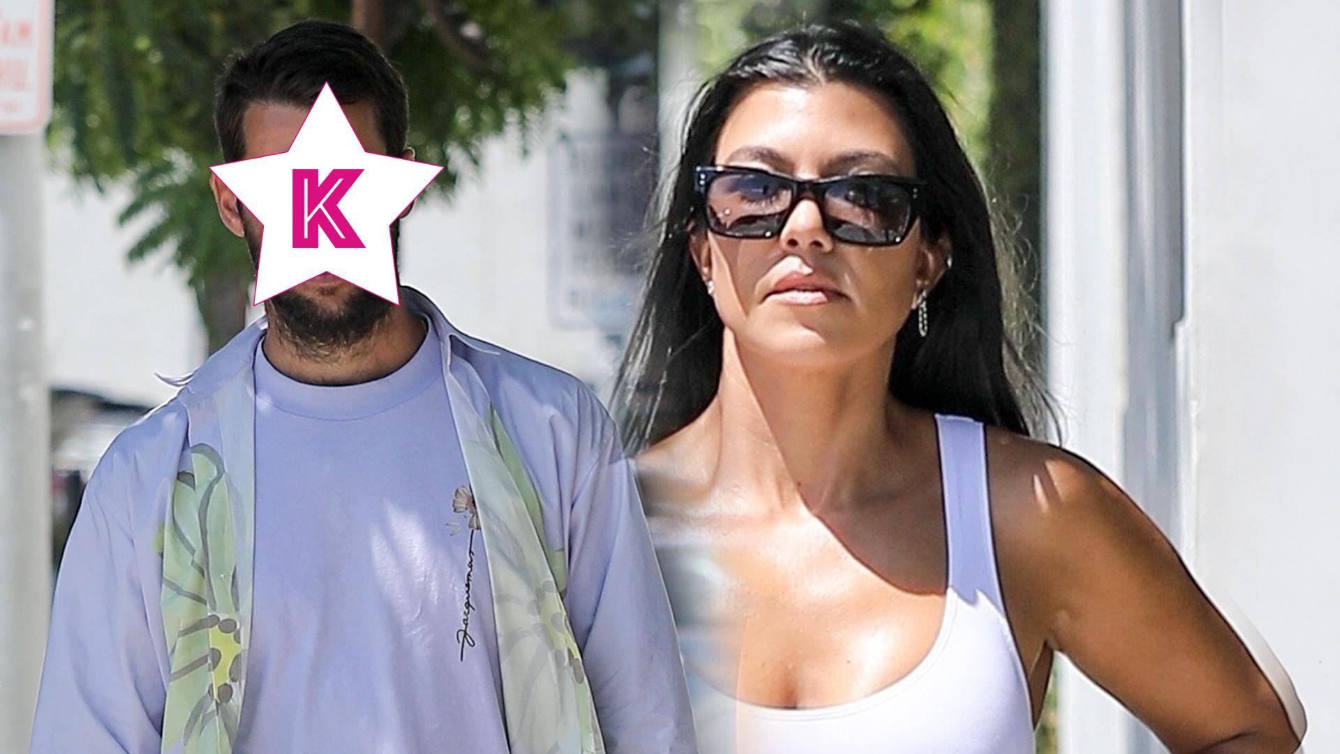 Kourtney Kardashian znalazła sobie KLONA Scotta Disicka? (ZDJĘCIA)