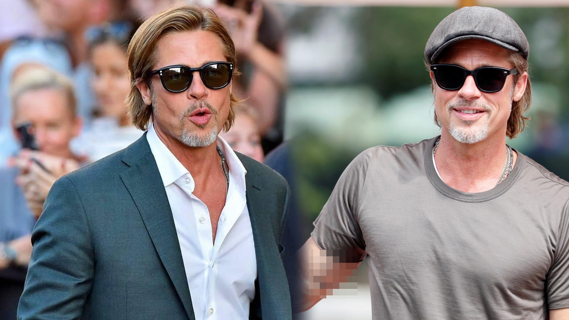 Brad Pitt zrobił sobie NOWY tatuaż – co mówi o życiu aktora PO ROZSTANIU z Angeliną Jolie?