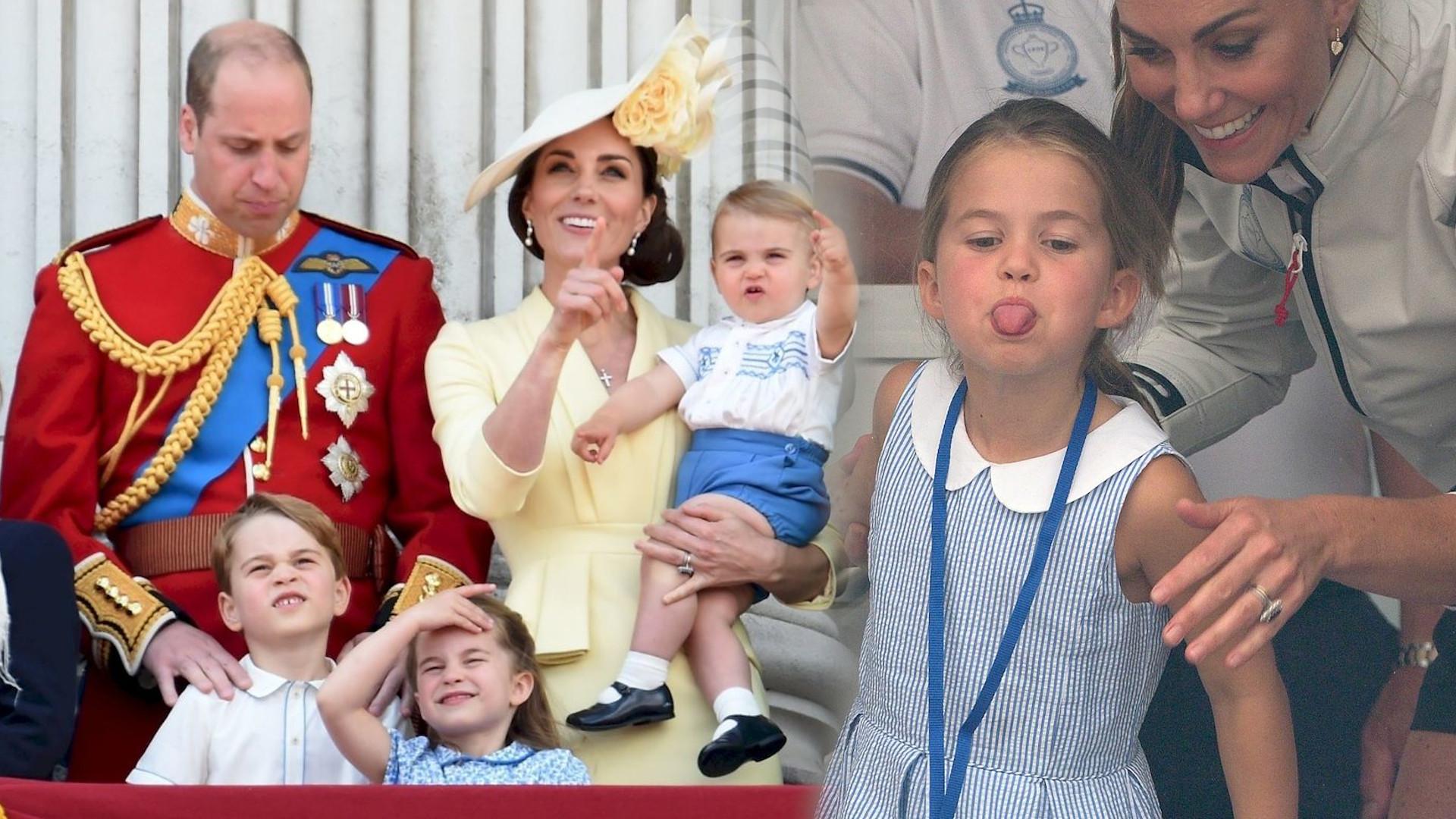 Kate i William z dziećmi zszokowali pasażerów – zaskakująca relacja świadka