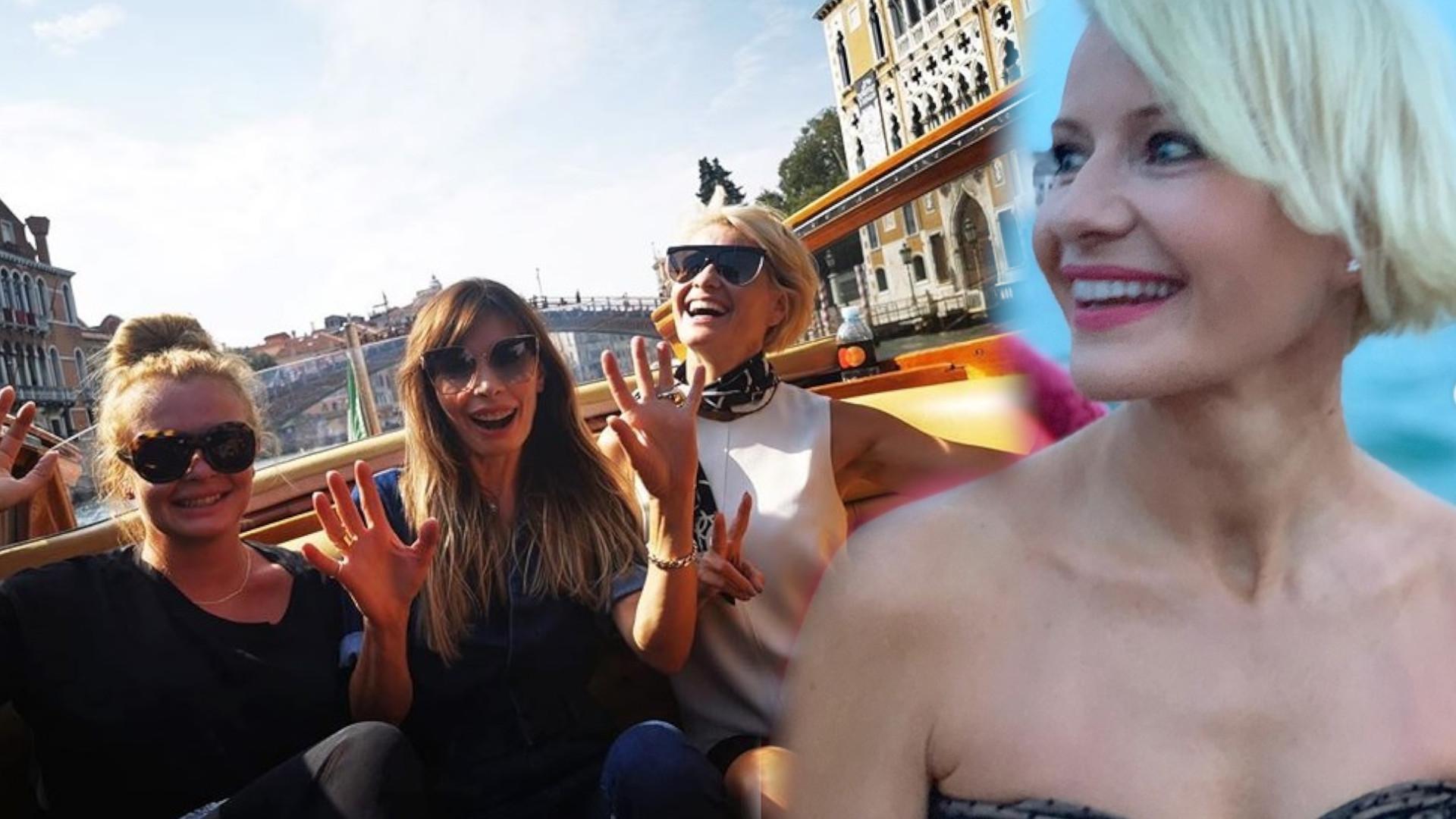 Małgorzata Kożuchowska na festiwalu w Wenecji. Fani jednogłośnie: proszę wrócić do starej fryzury