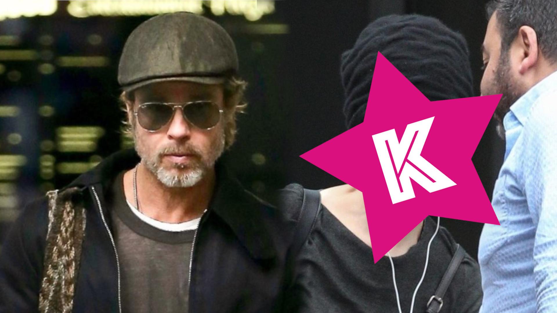 Brad Pitt przyłapany z byłą dziewczyną (ZDJĘCIA)