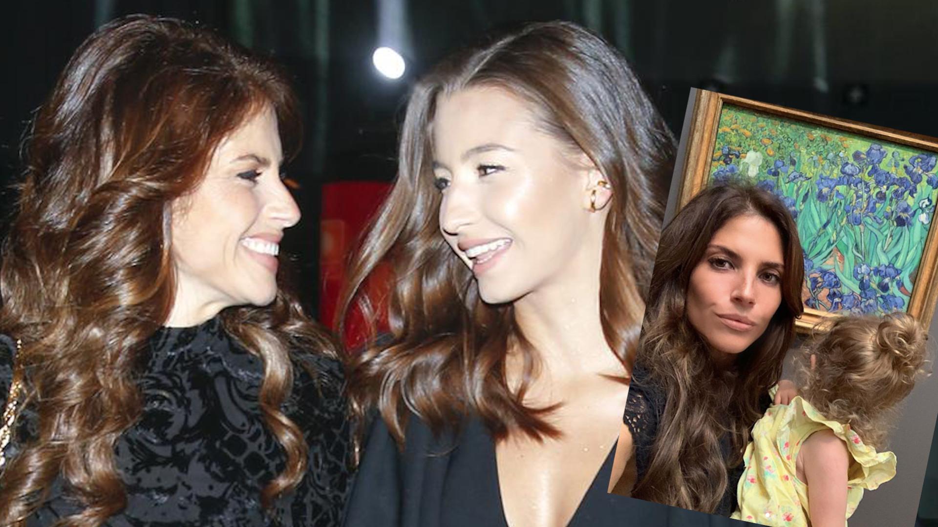 Julia Wieniawa pokazała CÓRKĘ Weroniki Rosati. Jest podobna do taty
