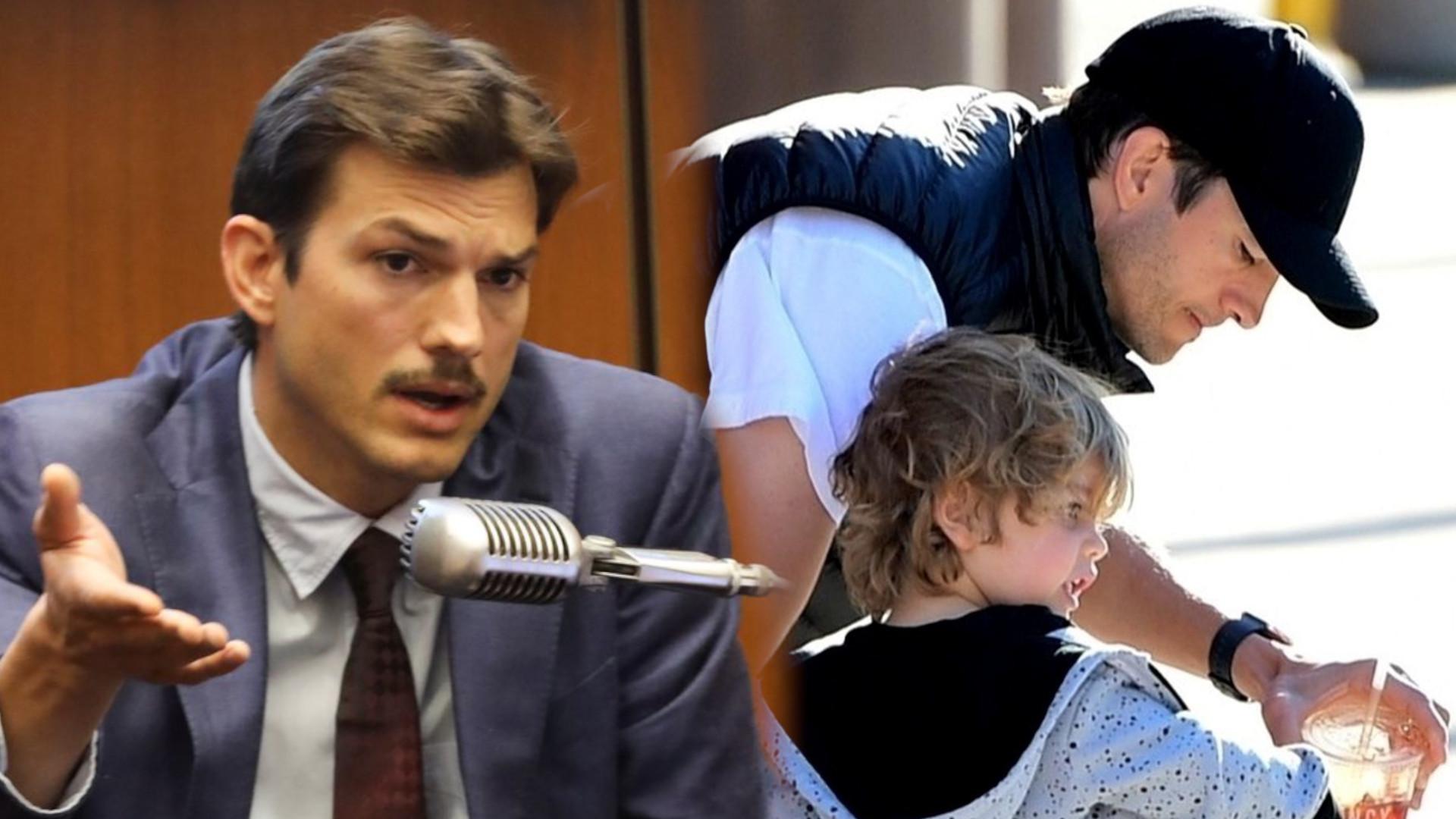 """Ashton Kutcher ostrzega rodziców: """"Kiedy dzieci przychodzą wieczorem do waszej sypialni, może to się źle skończyć"""""""