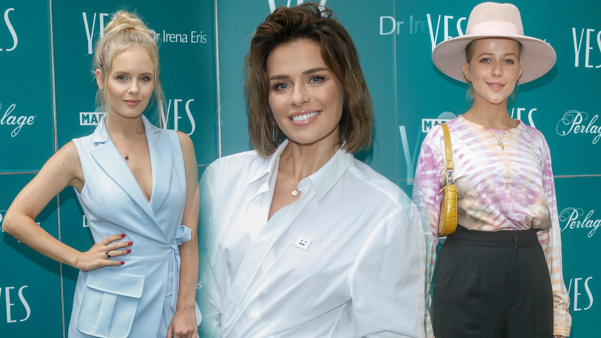 Natasza Urbańska, Olga Kalicka, Jessica Mercedes i inne gwiazdy na pokazie nowej kolekcji biżuterii (ZDJĘCIA)