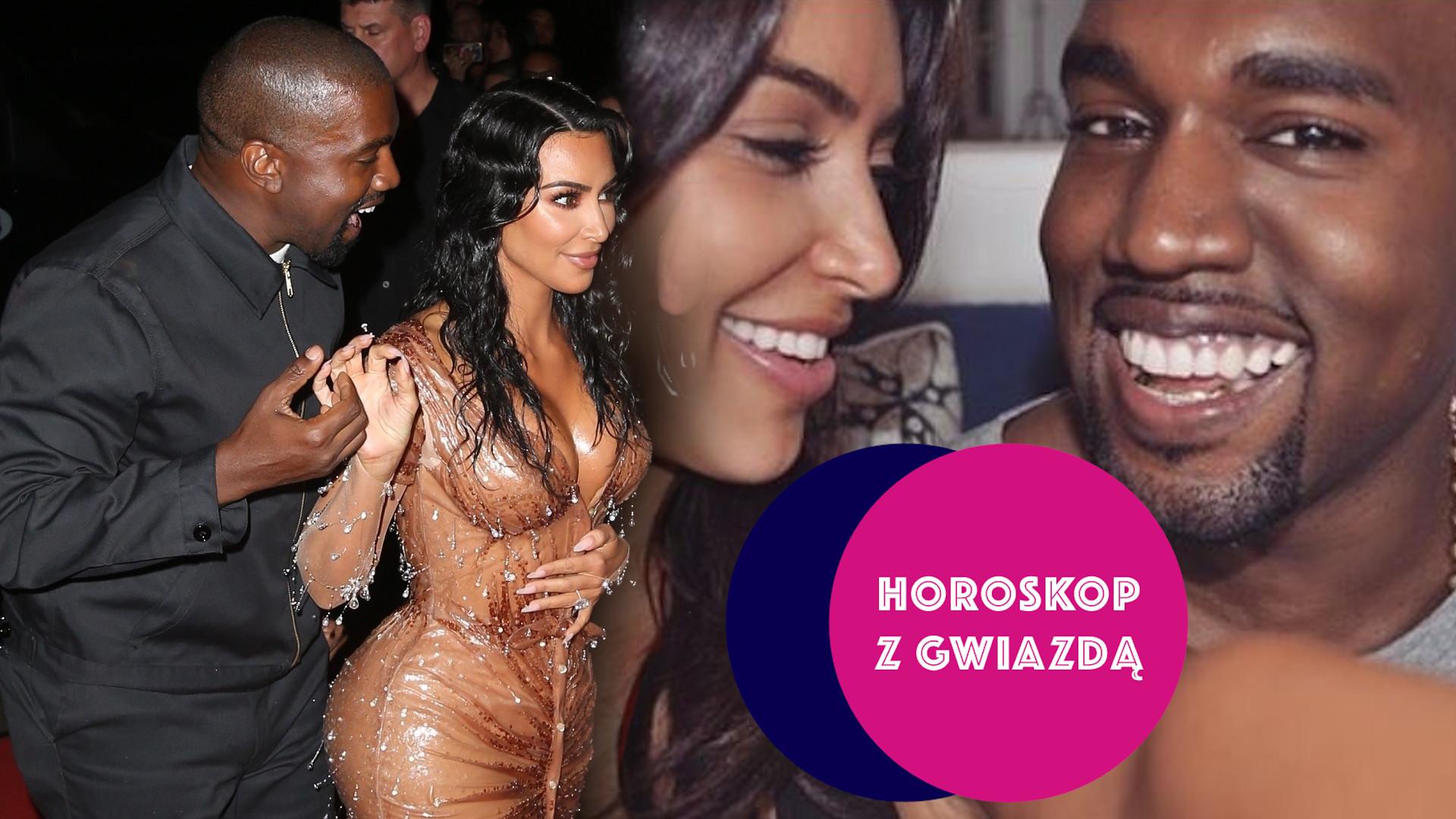 HOROSKOP Z GWIAZDĄ: Sprawdziliśmy, jak Kim Kardashian i Kanye Westowi układa się W ŁÓŻKU