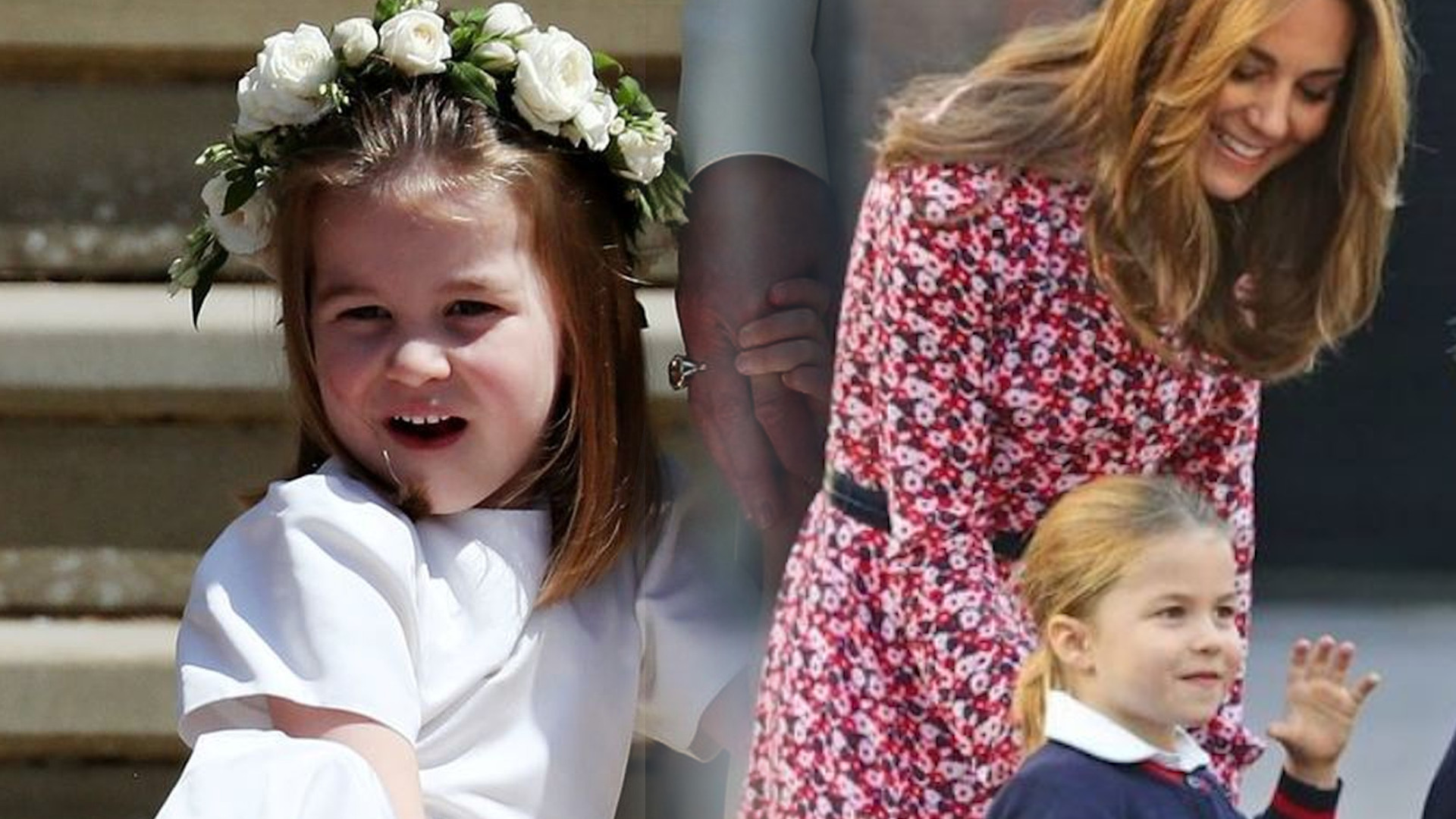 Księżna Kate i książę William odprowadzają księżniczkę Charlotte do szkoły (ZDJĘCIA)