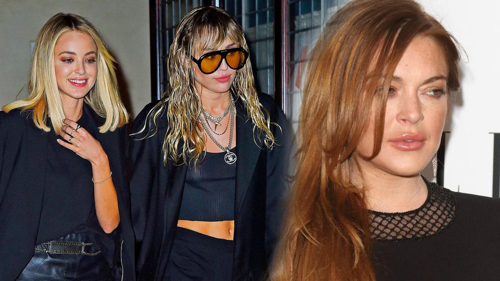 SZOK! Reakcja Miley Cyrus na wiadomość o tym, że Lindsay Lohan flirtuje z Liamem Hemsworthem