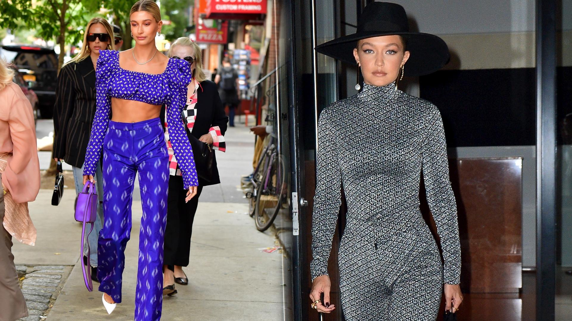 Plejada modelek na ulicach Nowego Jorku z okazji tygodnia mody