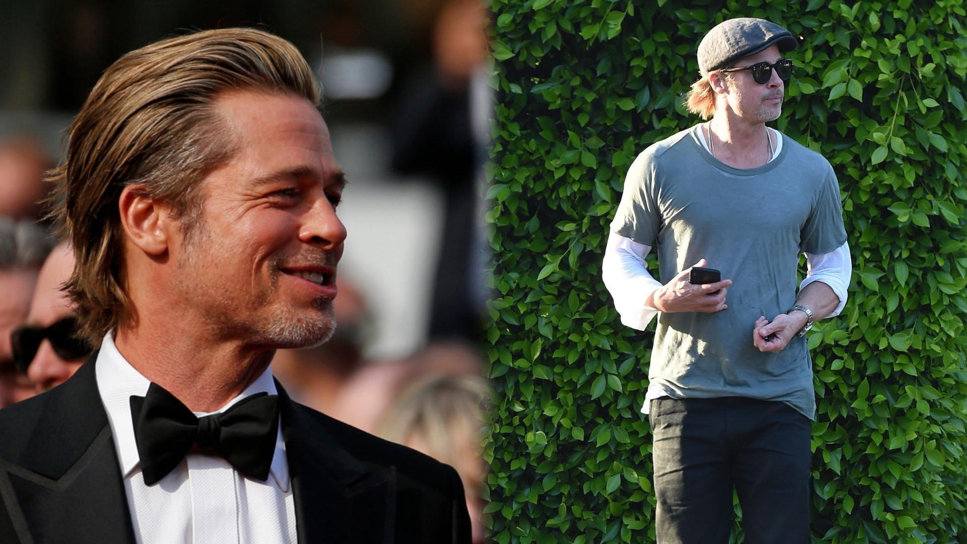 Brad Pitt: Może tu chodzi o to, że się k**wa STARZEJĘ