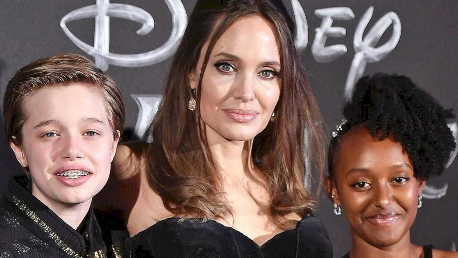 Angelina Jolie polubiła NOWĄ fryzurę (ZDJĘCIA)
