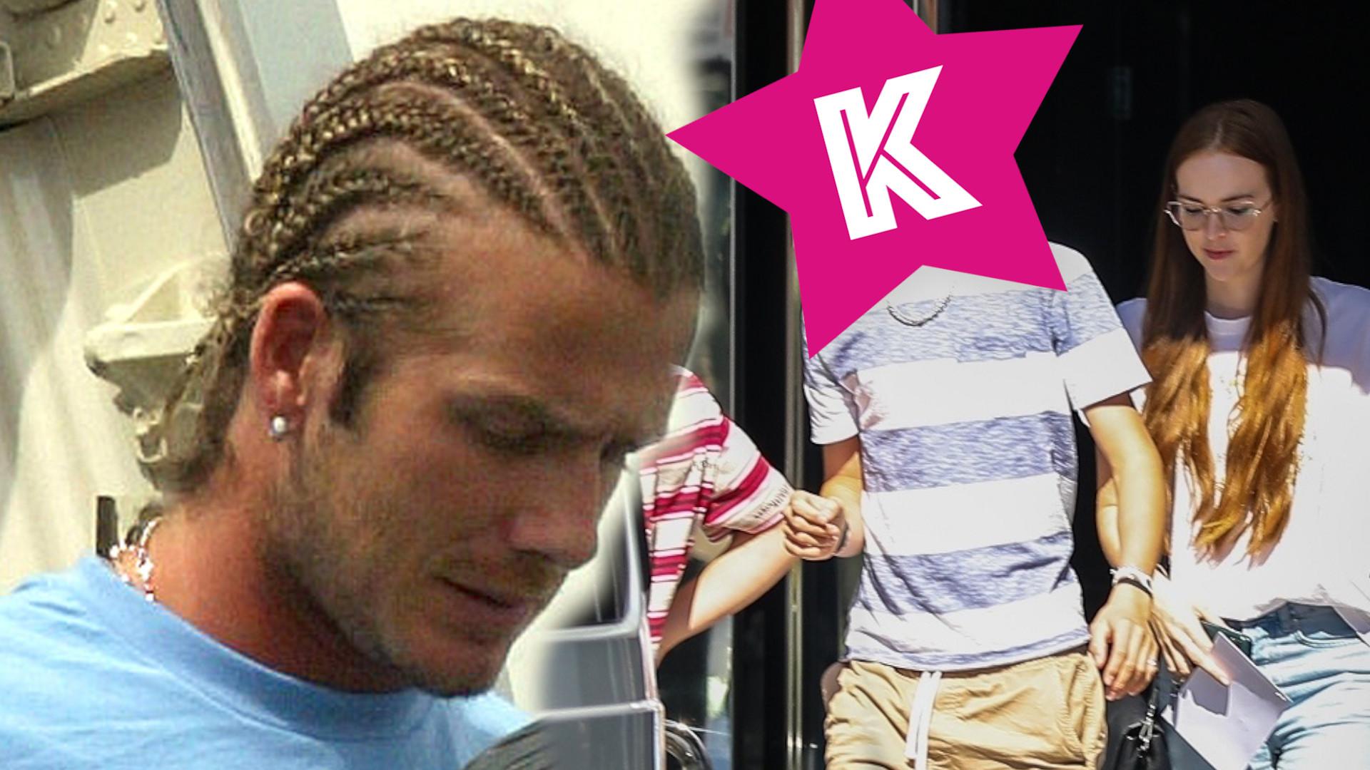 Romeo Beckham zmienił fryzurę! Wygląda jak młody David