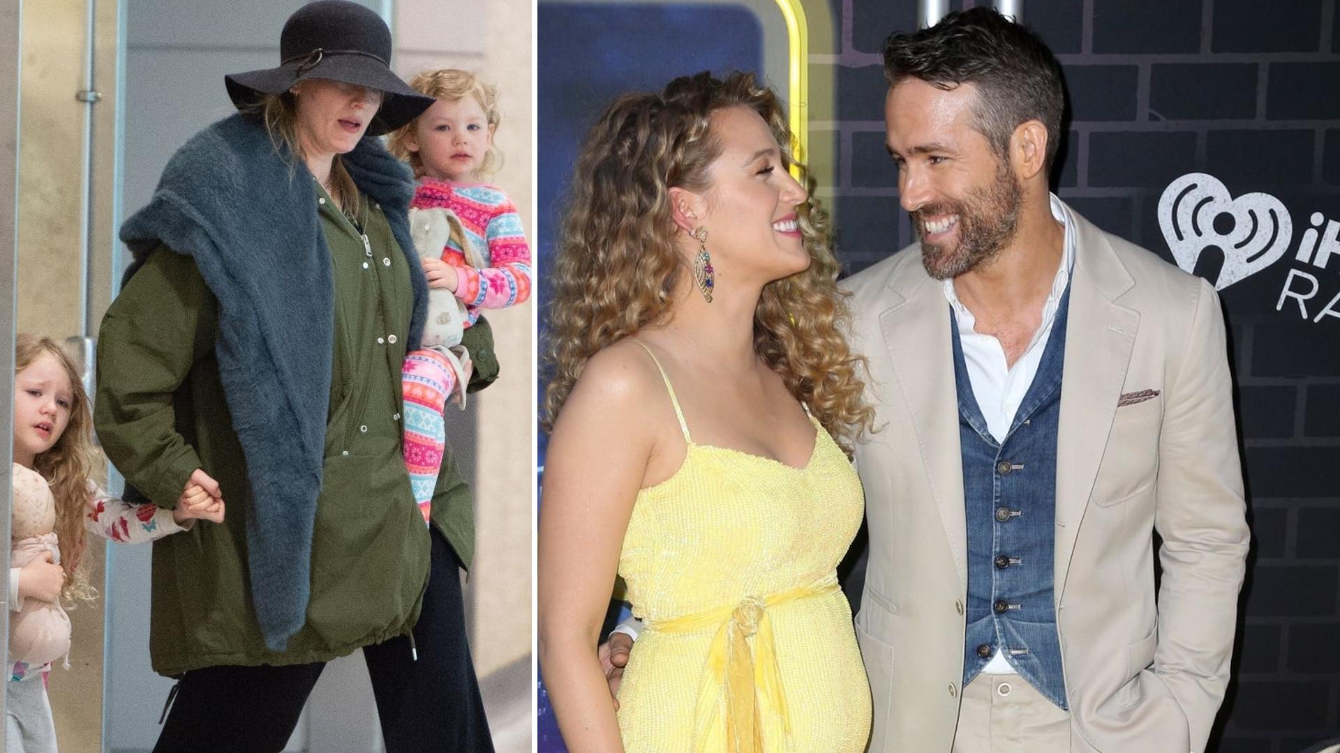 Blake Lively URODZIŁA trzecie dziecko