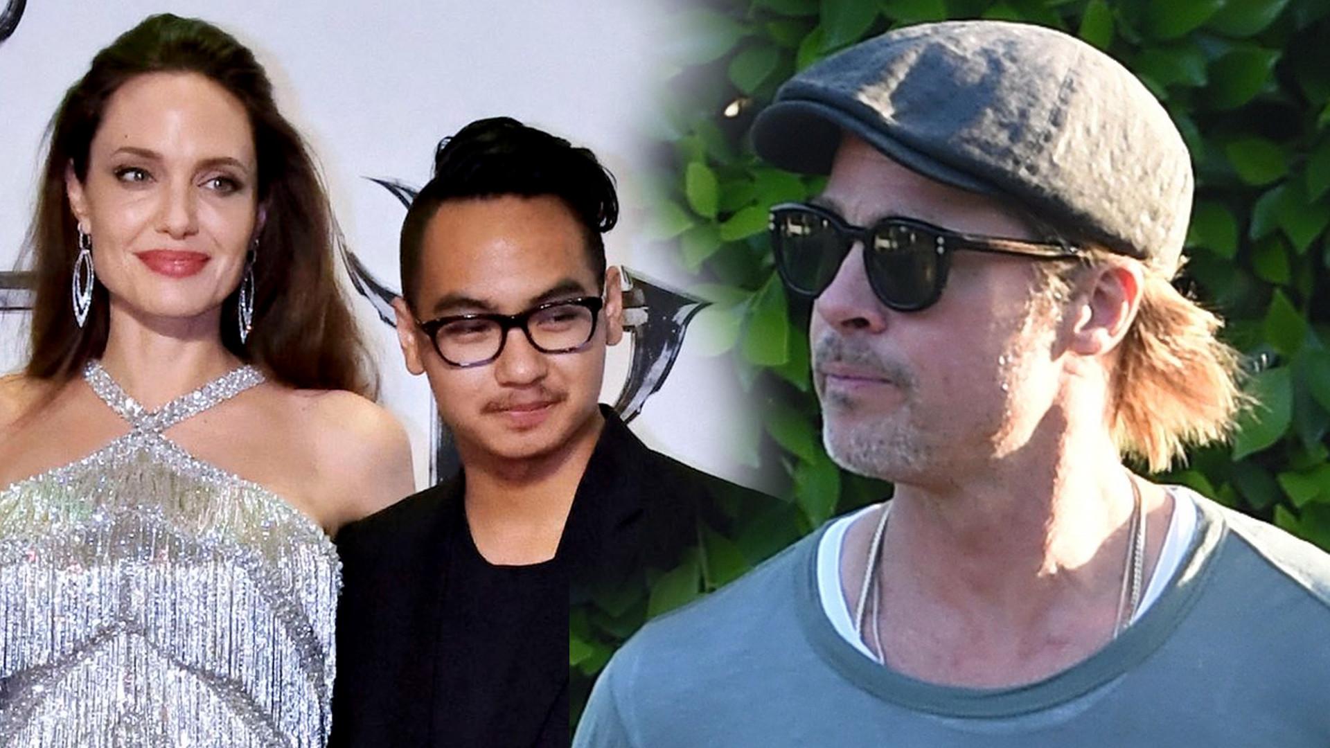 Maddox nie czuje się synem Brada Pitta