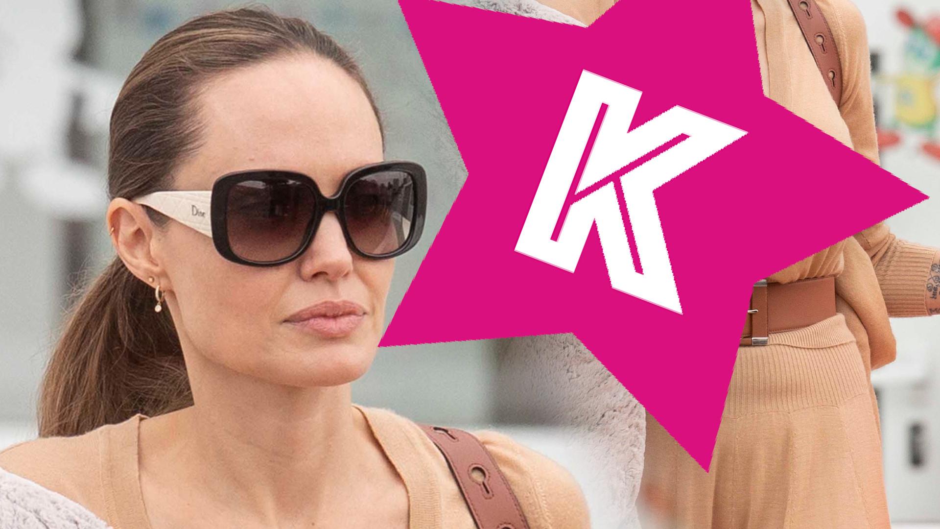 Angelina Jolie na wakacjach – zobaczcie, z czym wyszła ze sklepu! (ZDJĘCIA)