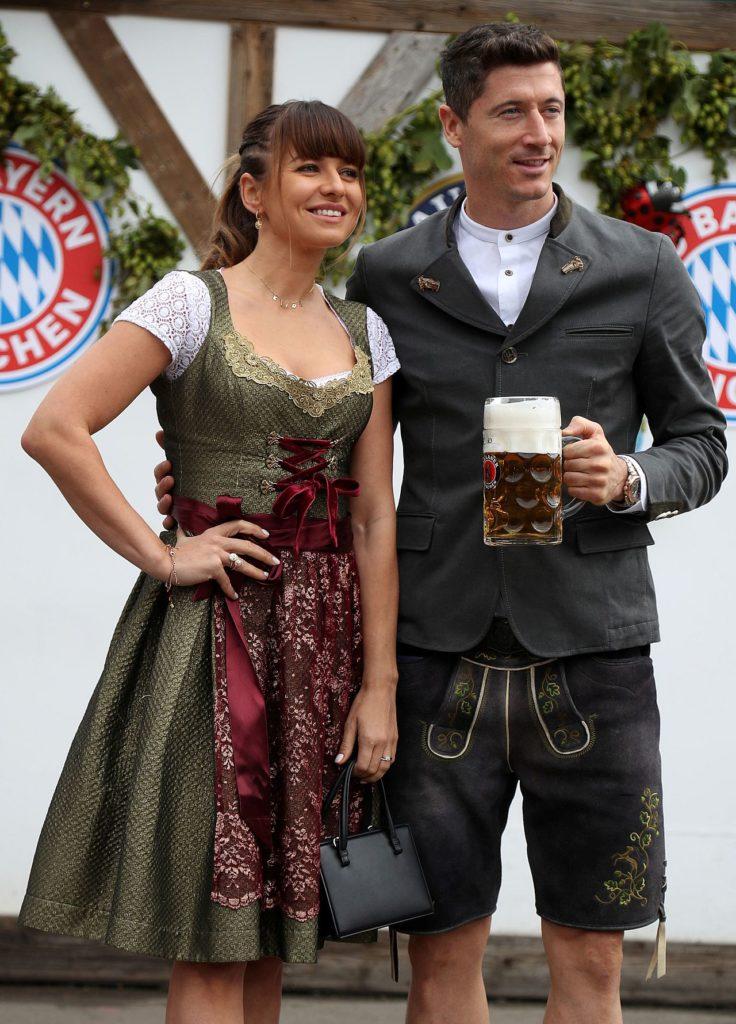 Anna i Robert Lewandowscy