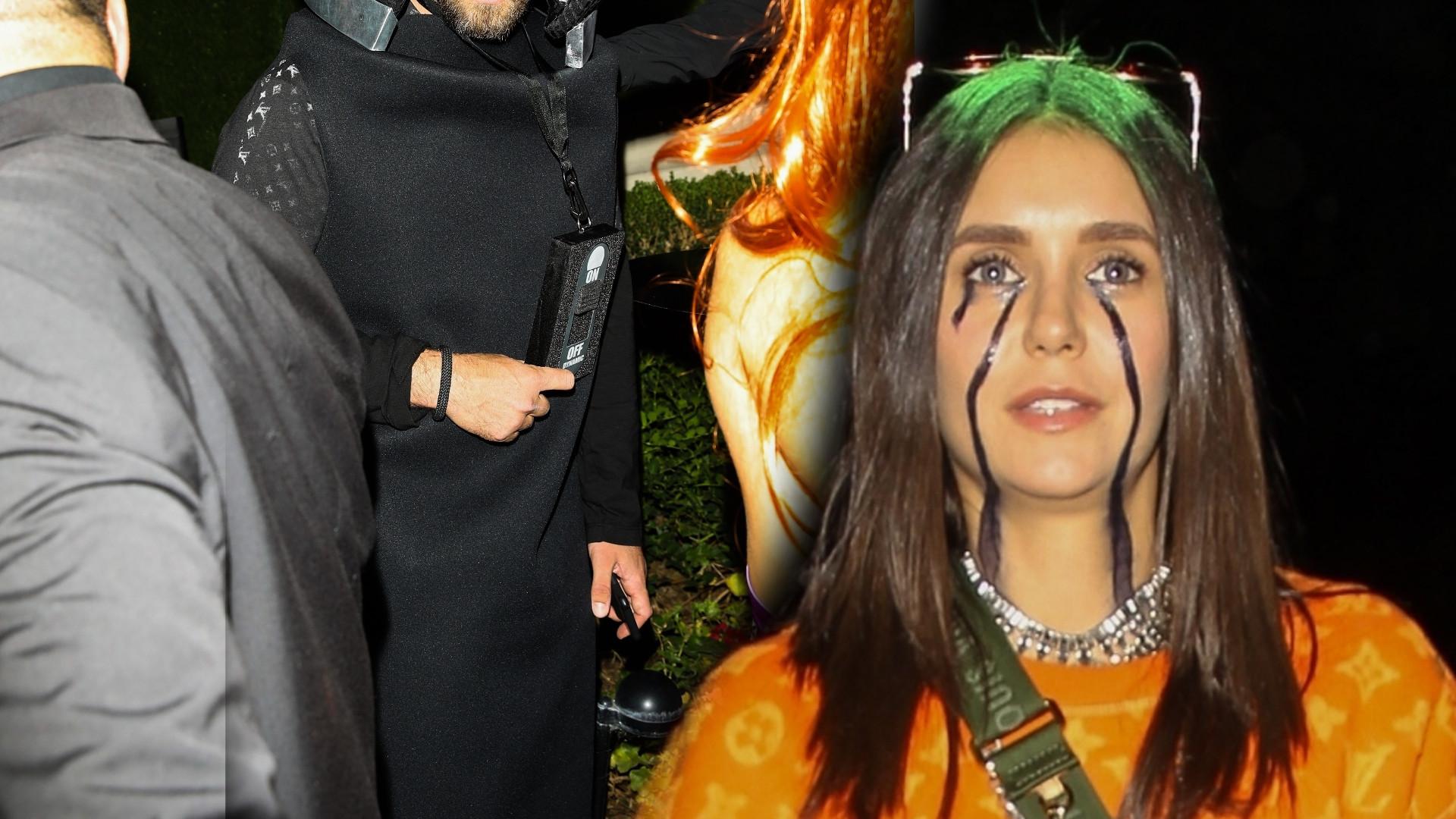Smętna Nina Dobrev i odjechany kostium Justina Timberlake'a na imprezie halloween'owej gwiazd