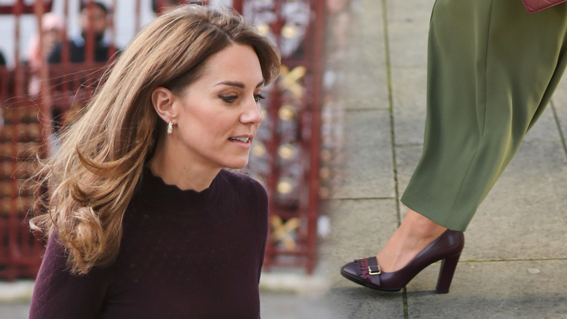 Księżna Kate w modnych kulotach i z torebką Chanel (ZDJĘCIA)