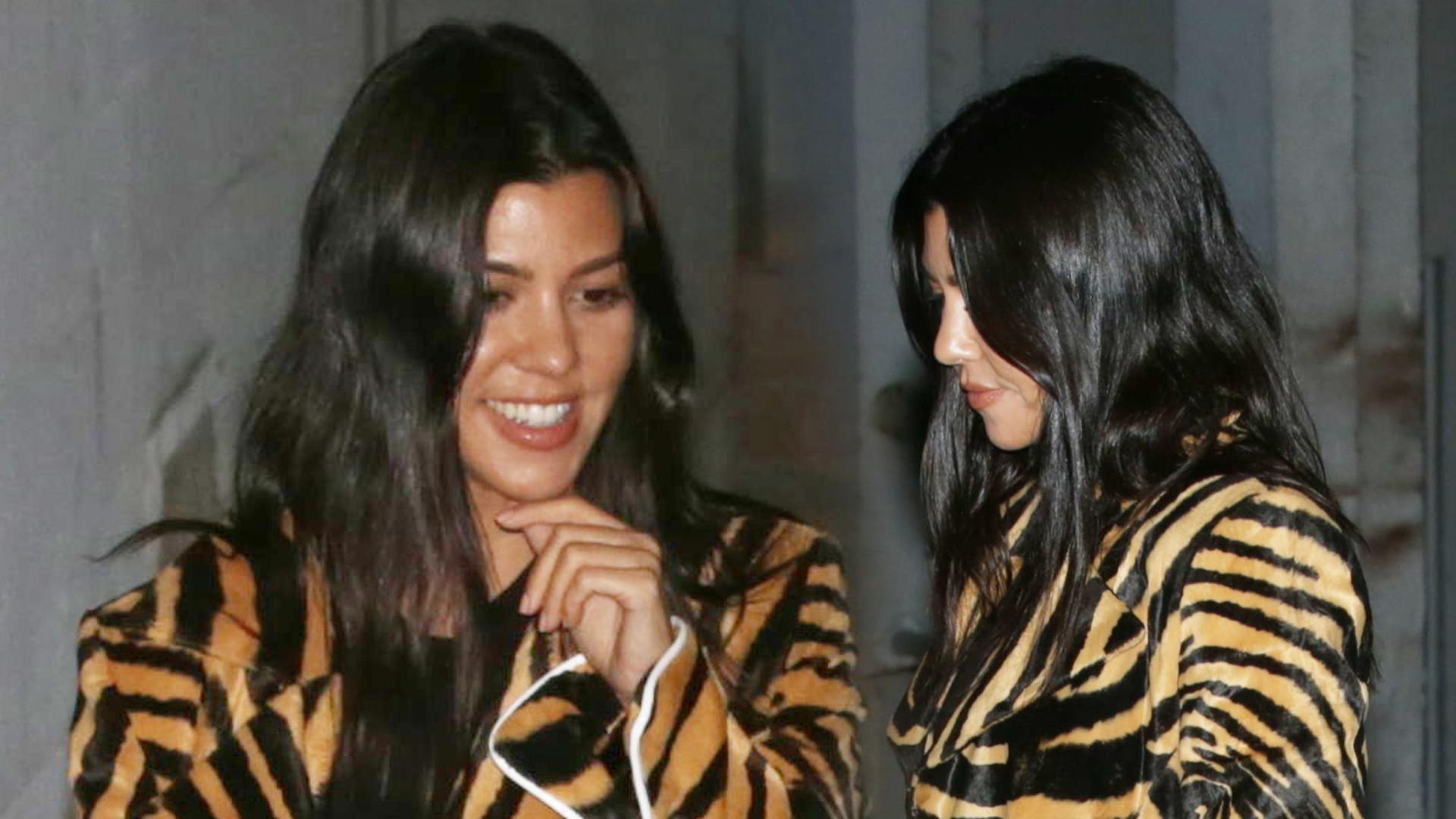 Kourtney Kardashian wybrała się do kościoła razem z Hailey Bieber. W przeszłości miała mieć romans z Justinem (ZDJĘCIA)