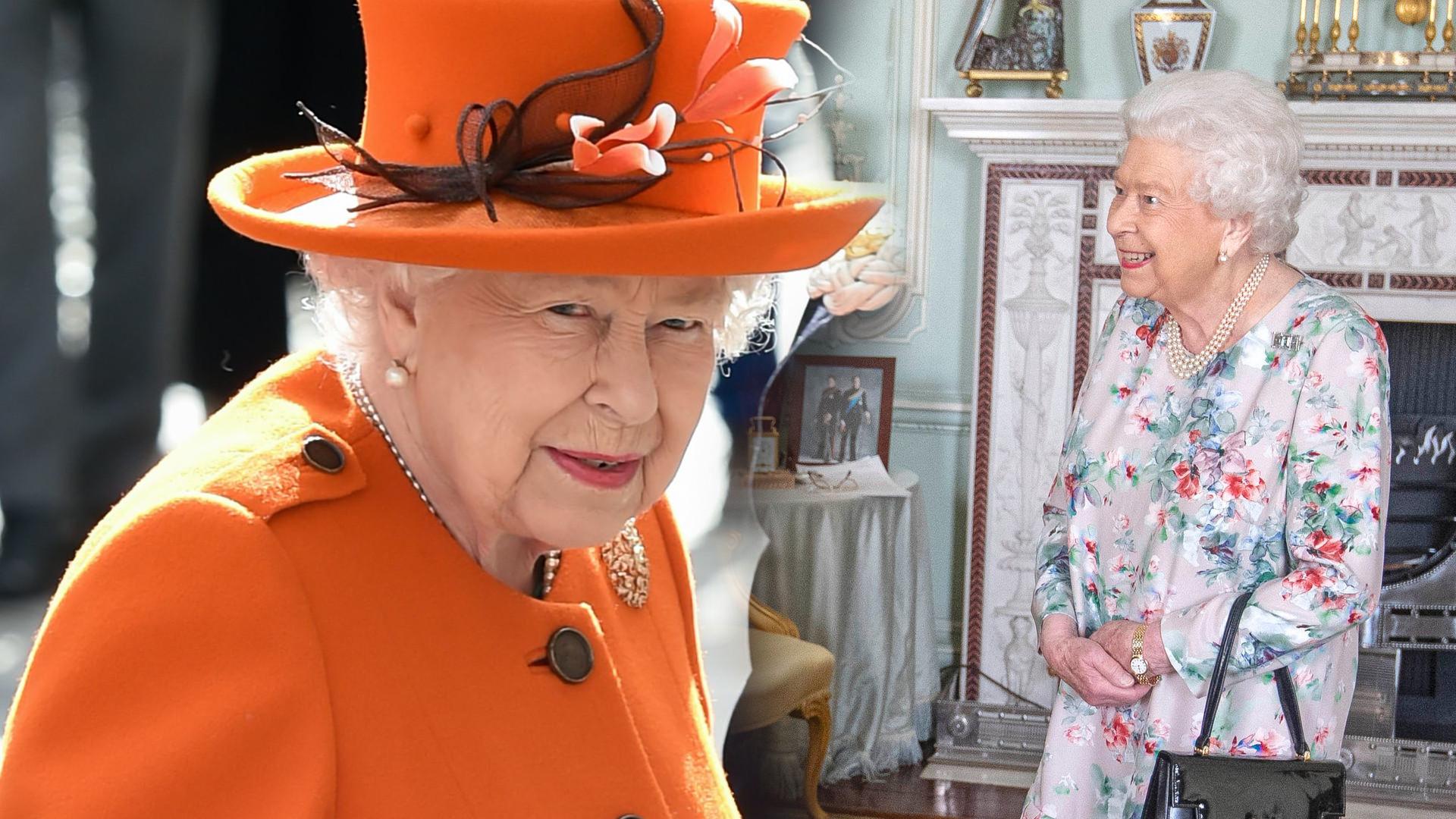 Królowa Elżbieta ZLIKWIDOWAŁA zdjęcie Meghan i Harry'ego, które stało w jej salonie
