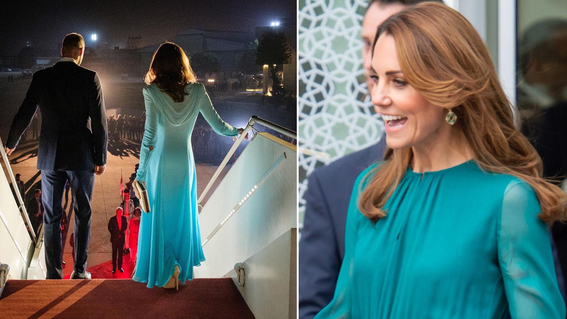 Kate Middleton z Księciem Williamem z oficjalną wizytą w Pakistanie (FOTO)