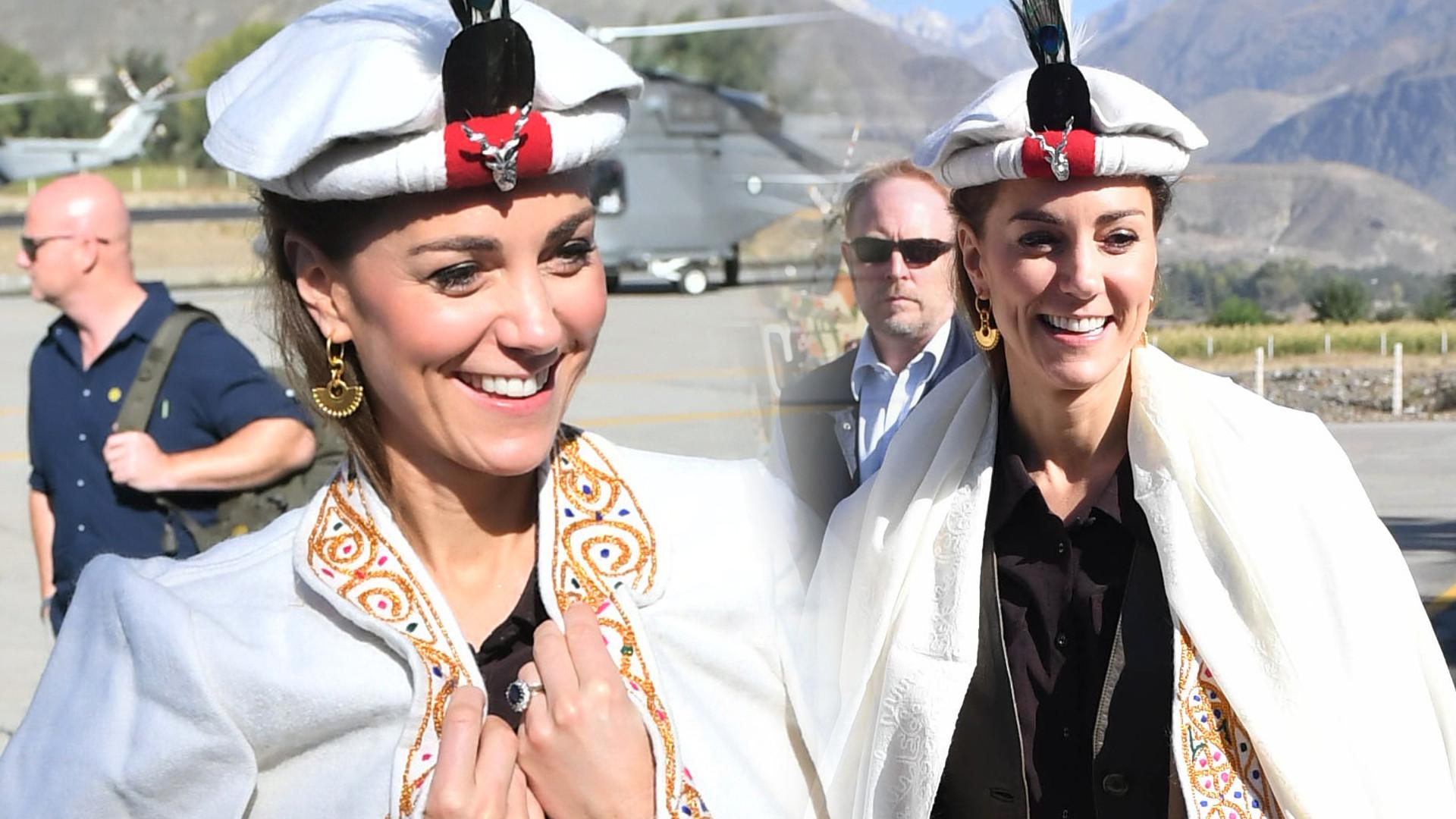 WOW! Księżna Kate odtworzyła strój księżnej Diany sprzed wielu lat (ZDJĘCIA)