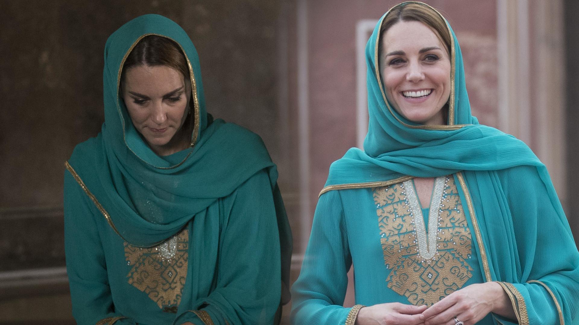 Księżna Kate w meczecie – mamy rzadką okazję zobaczyć jej STOPY (ZDJĘCIA)