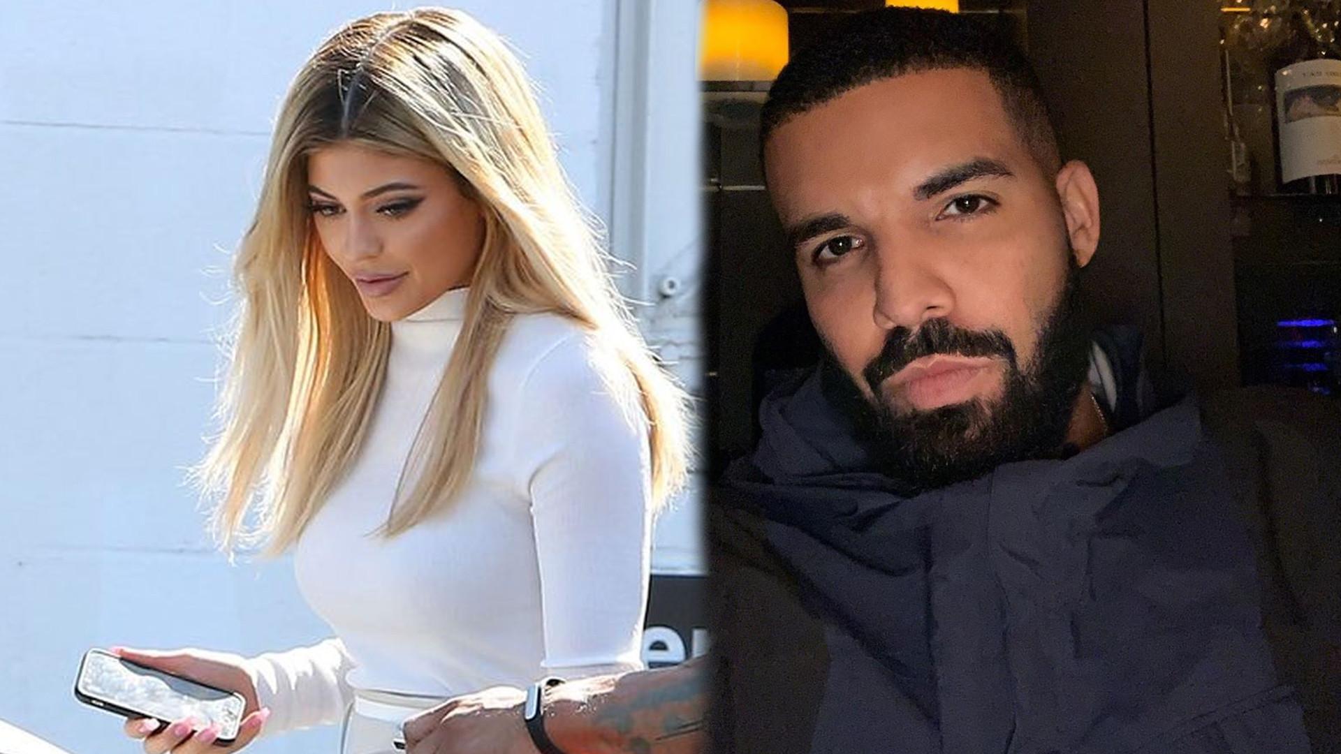 Kylie Jenner romansuje z Drake'iem! Co na to Travis Scott?
