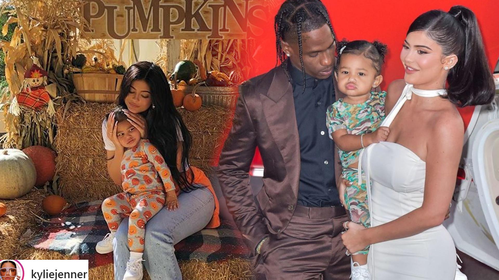 Kylie Jenner spotkała się z Travisem Scottem – rozmawiała ze Stormi na temat taty, z którym się rozstała