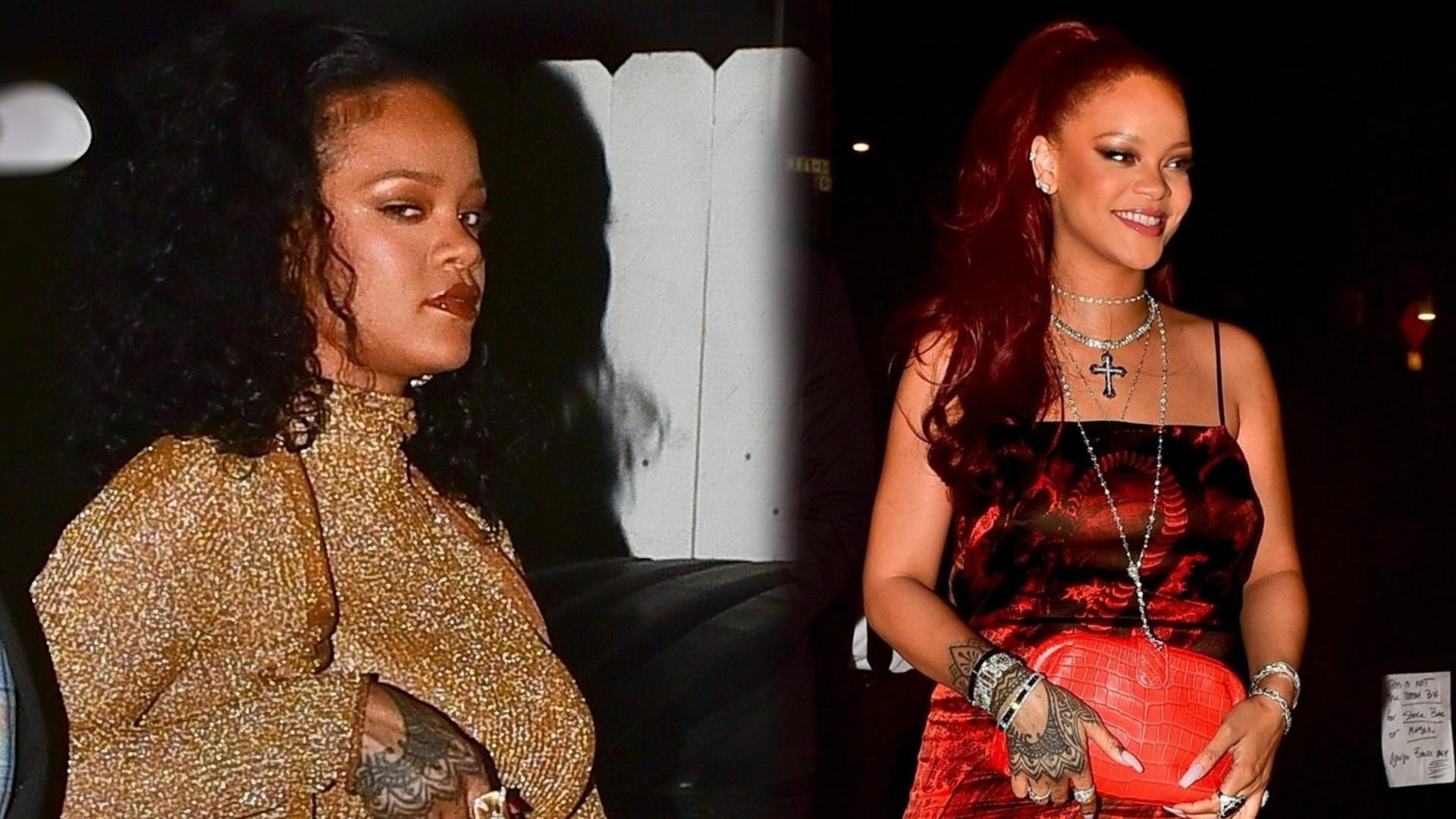 Oto kolejny dowód na to, że Rihanna spodziewa się dziecka? (FOTO)