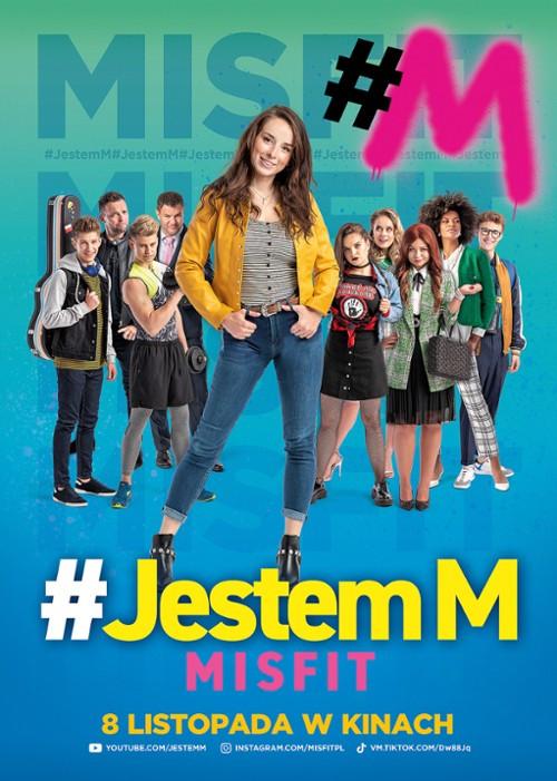 Plakat filmu #Jestem M. Misfit