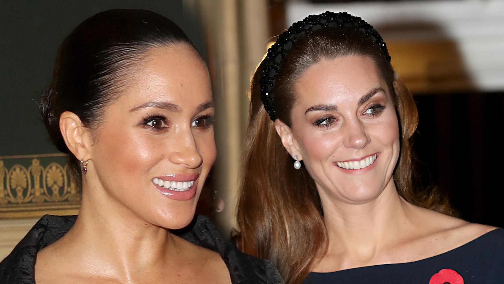 Kate Middleton i Meghan Markle na jednej imprezie. Ciężko zdecydować, która wyglądała lepiej!