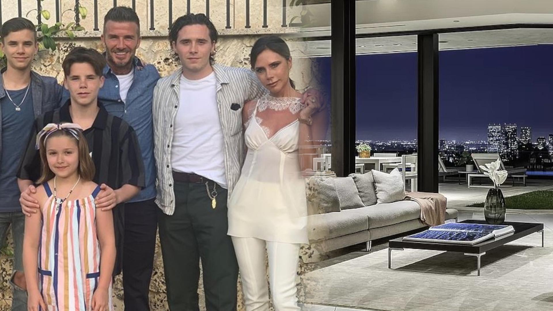 Beckhamowie WYNAJĘLI dla dzieci tę willę w Los Angeles. Miesięczny wynajem 25 tysięcy dolarów