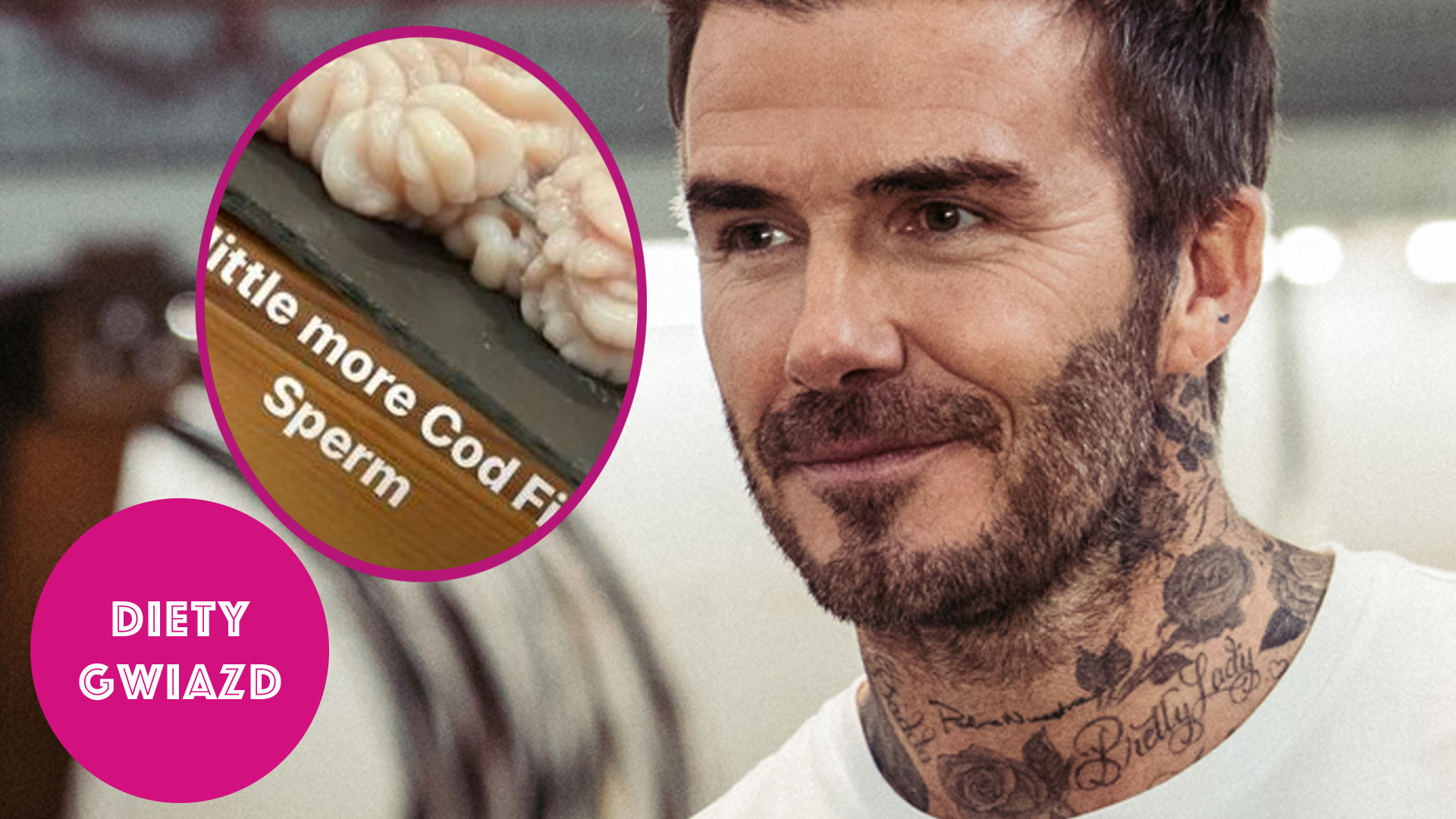 To wygląda obrzydliwie! Spójrzcie na talerz Davida Beckhama – wzięlibyście to do ust? [DIETY GWIAZD]