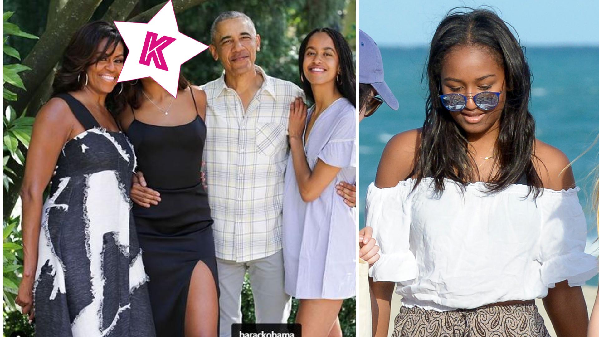 WOW! Młodsza córka Obamy, Sasha, wyrosła na piękną kobietę – mama Michelle pokazała nowe zdjęcie
