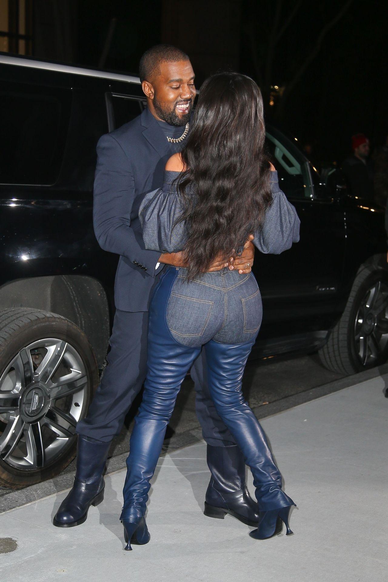 Kiedy Kim Kardashian założyła TO na siebie, Kanye West nie mógł oderwać od niej wzroku (I RĄK!) (ZDJĘCIA)