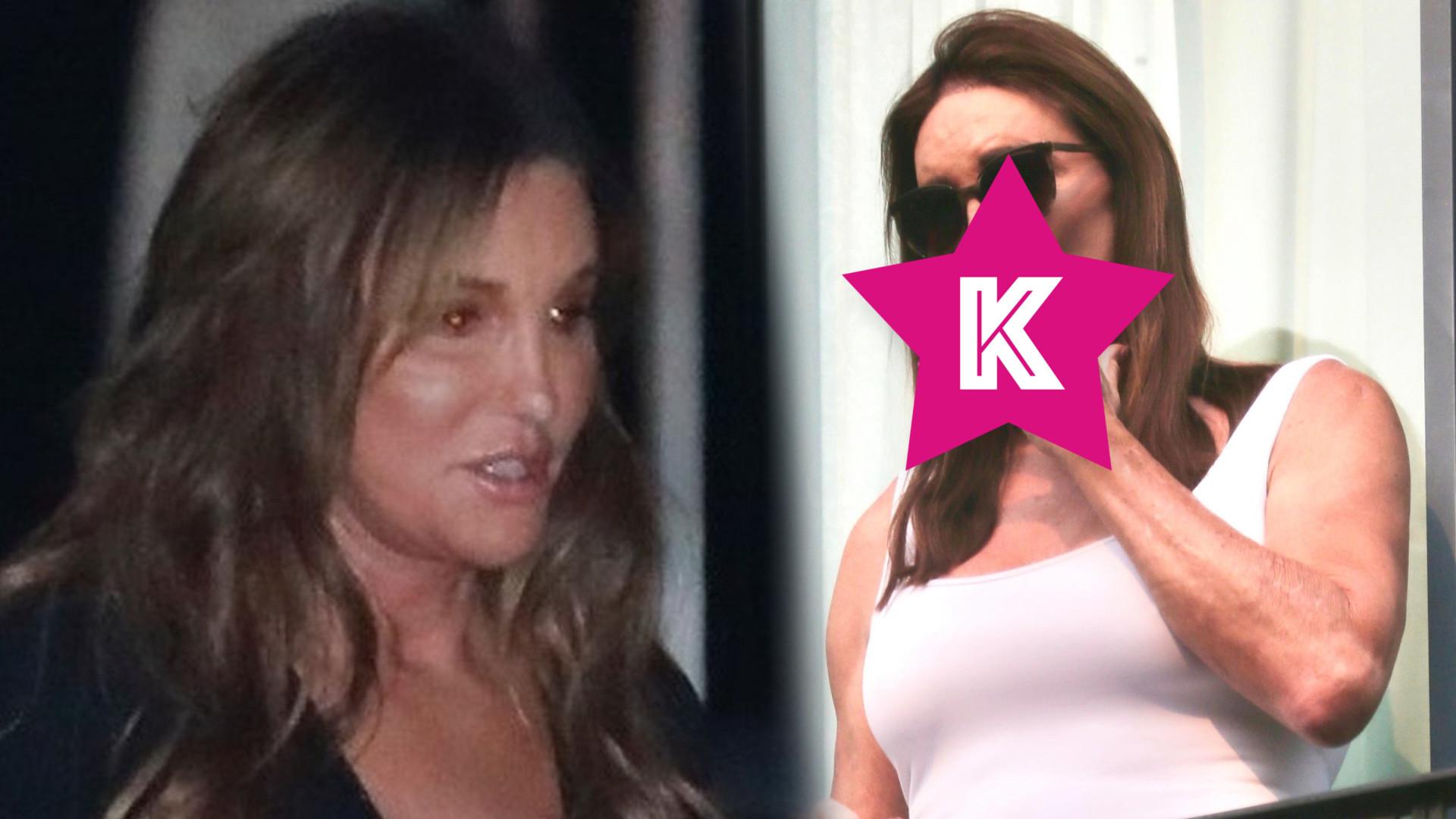 Caitlyn Jenner potajemnie pali papierosa! Ma takie MIĘŚNIE a zaciąga się fajką?! (FOTO)