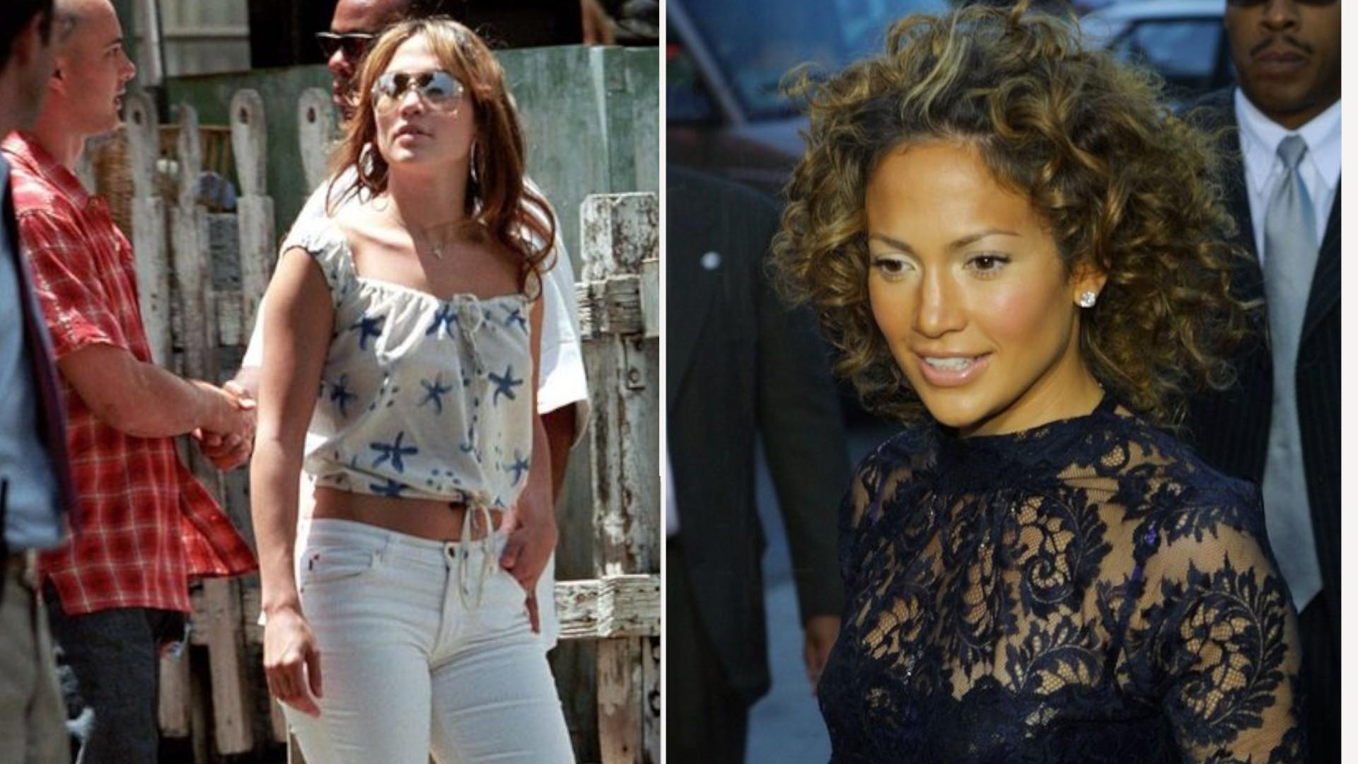 Jak wyglądała Jennifer Lopez przed epoką wypełniaczy, botoksu i powiększanych ust?