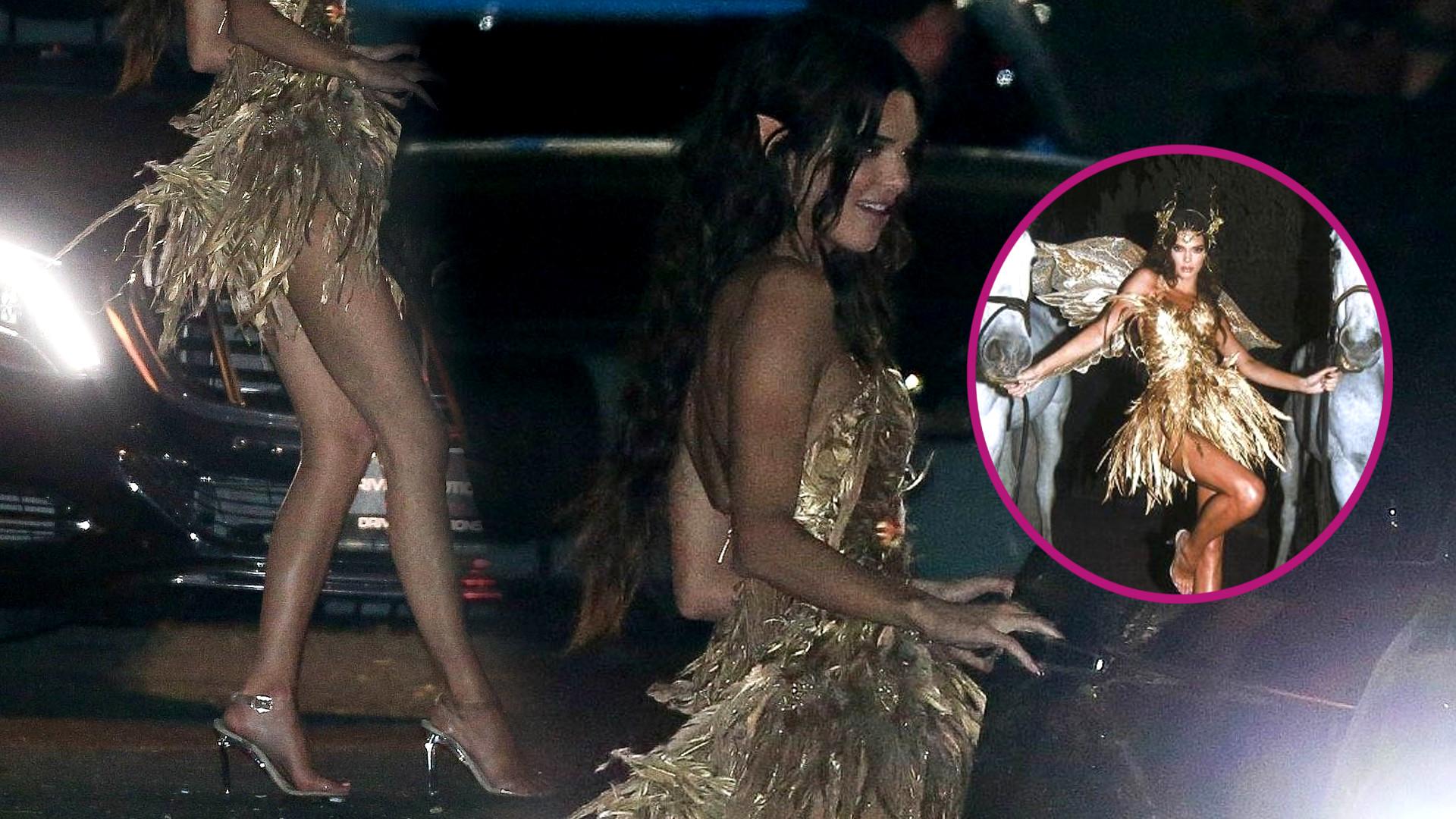 Kendall Jenner świętuje 24. urodziny – na imprezie przebrała się za Złotą Elfkę (ZDJĘCIA)