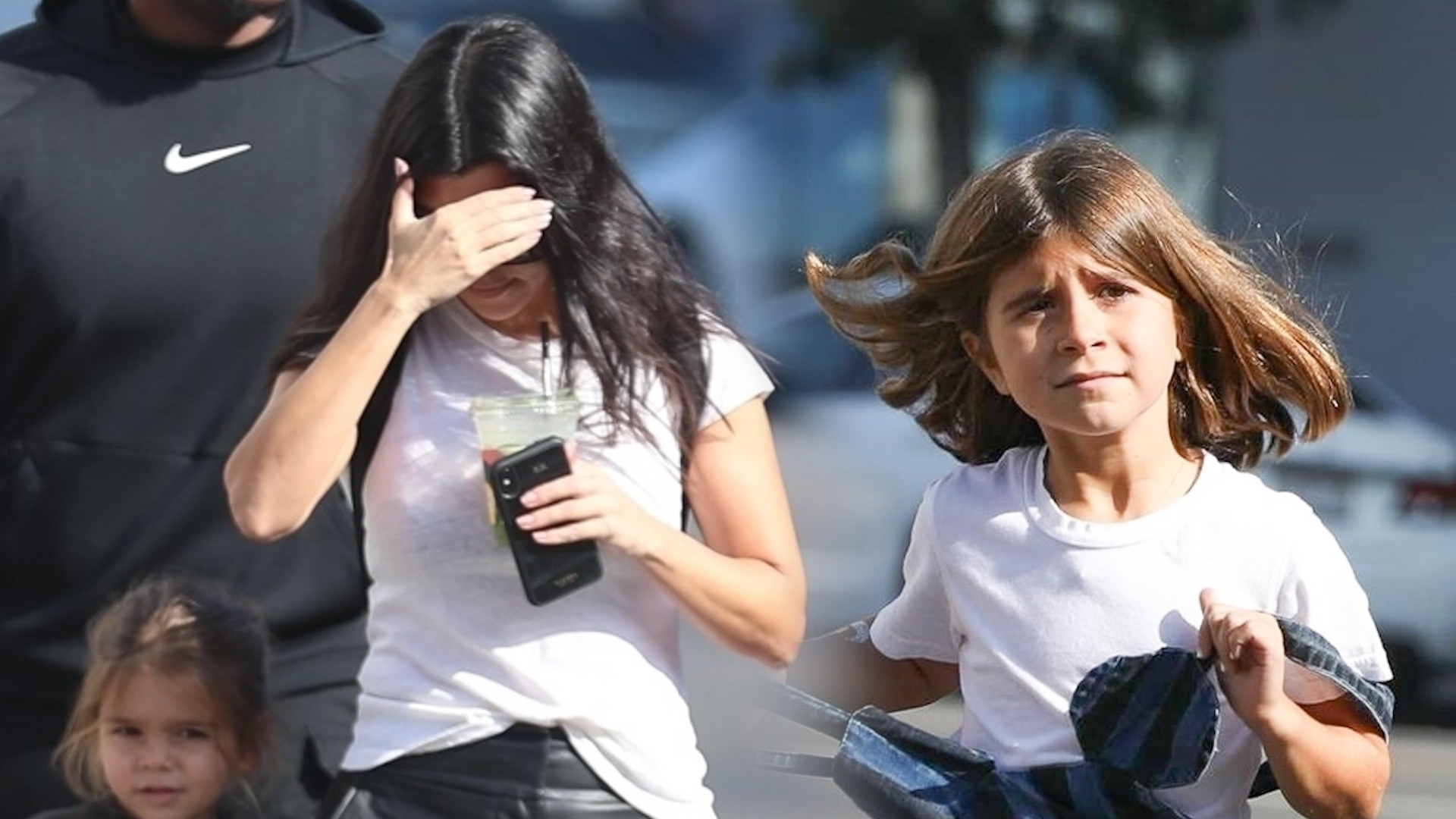 Kourtney Kardashian na lunchu z dziećmi – jej córka tym razem była ubrana stosownie do swojego wieku (ZDJĘCIA)