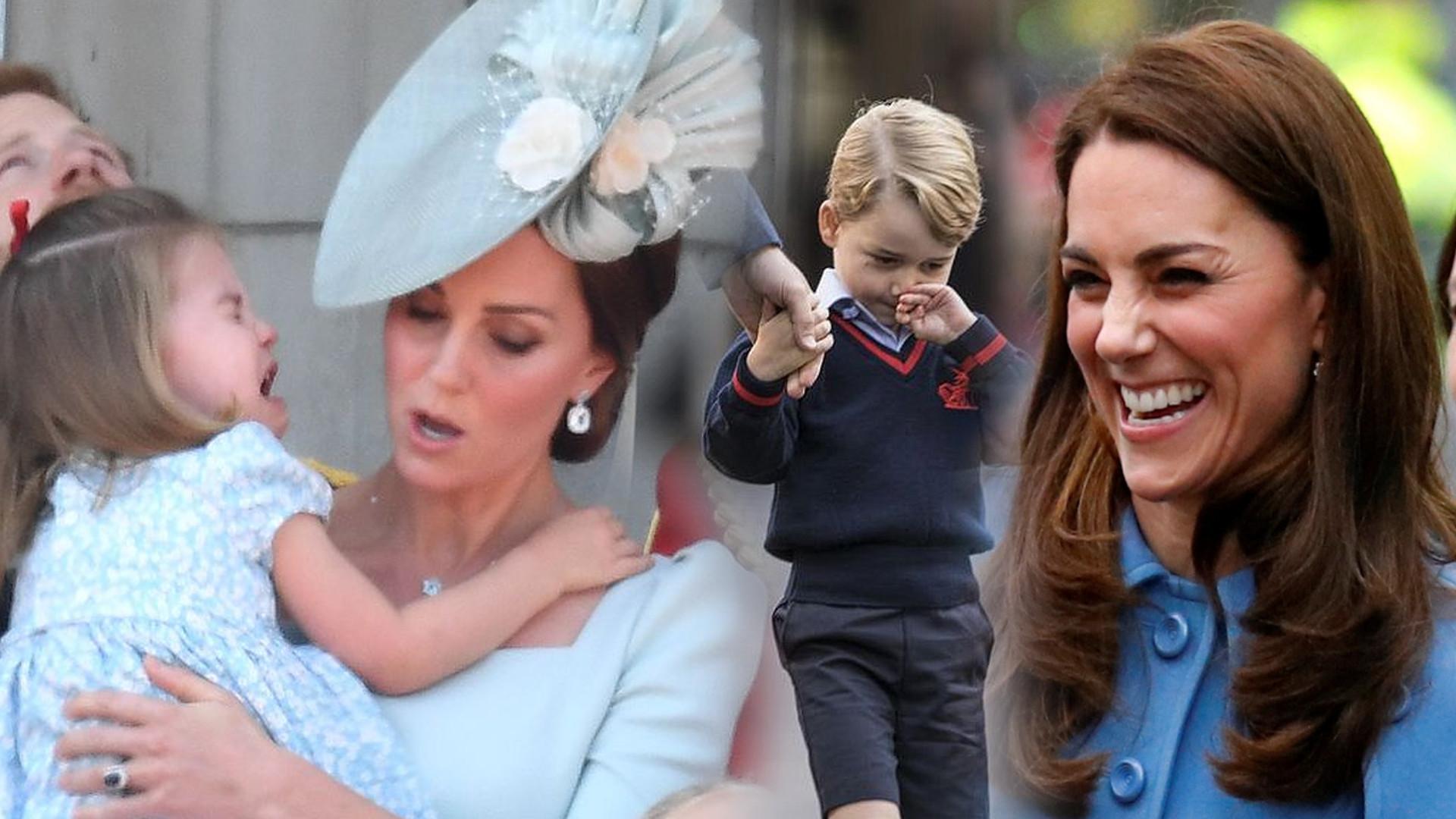 Surowa mama! Zobaczcie, czego księżna Kate ZABRONIŁA dzieciom