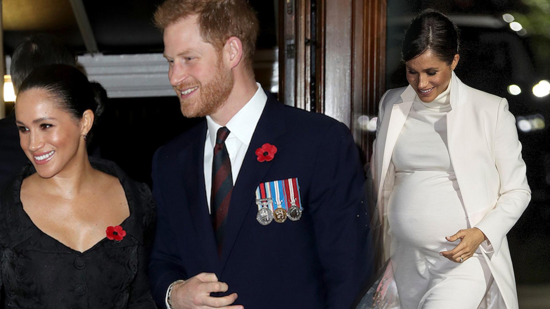 Księżna Meghan urodzi drugie dziecko? Rozmowa księcia Harry'ego daje do myślenia