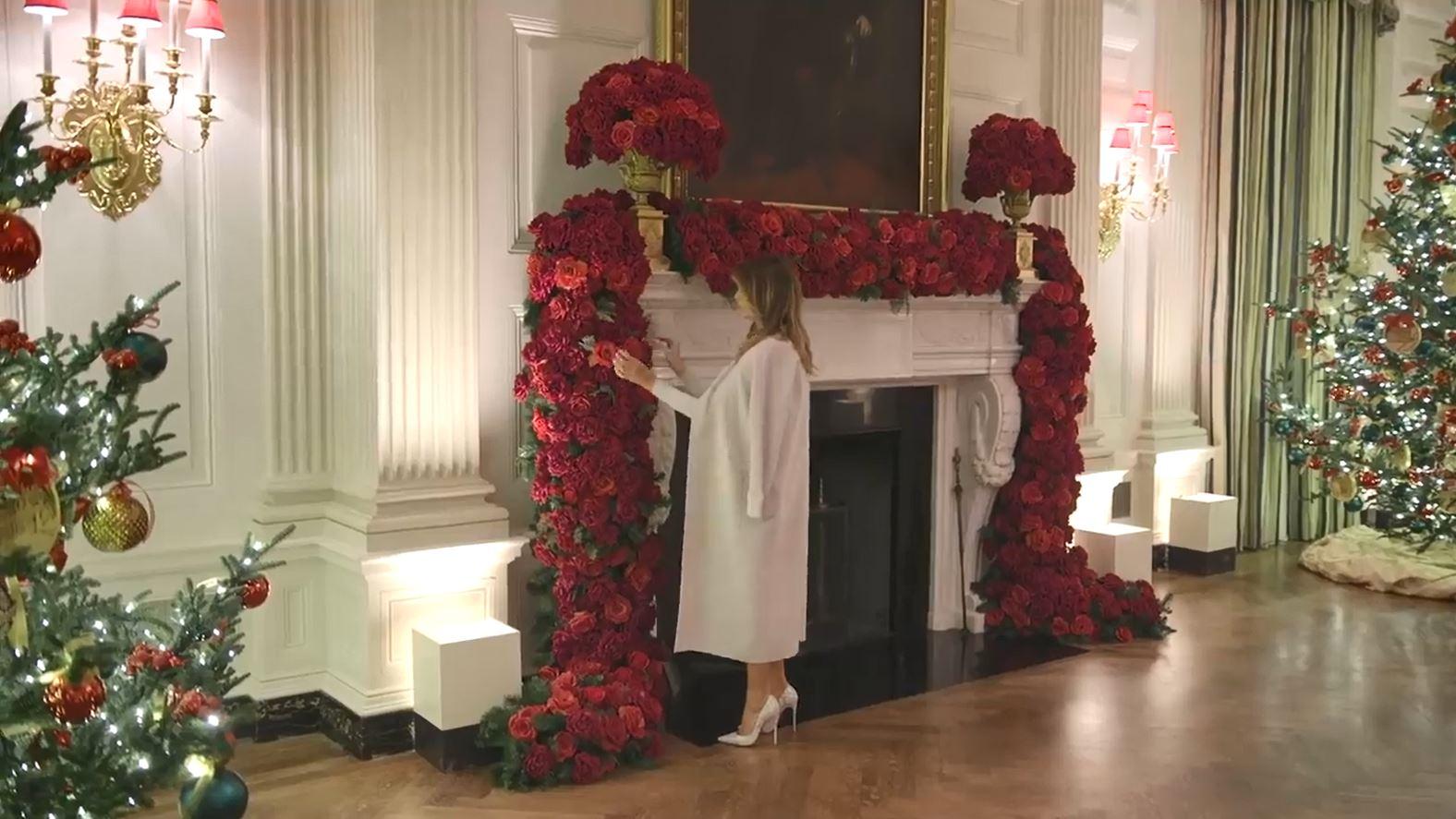 OMG! Tak Melania Trump udekorowała na święta Biały Dom. Jeszcze nigdy nie było takiego efektu