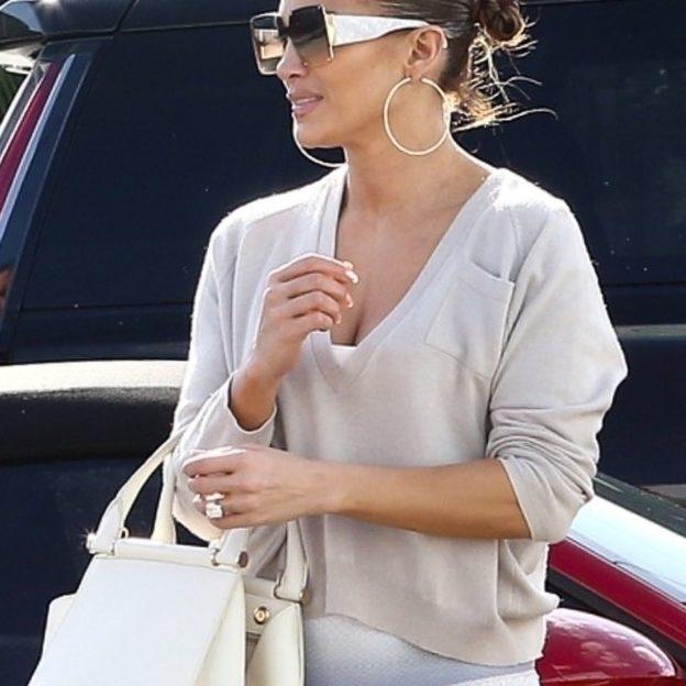 A Happy Jennifer Lopez steps out after Golden Globe nomination for 'Hustlers'