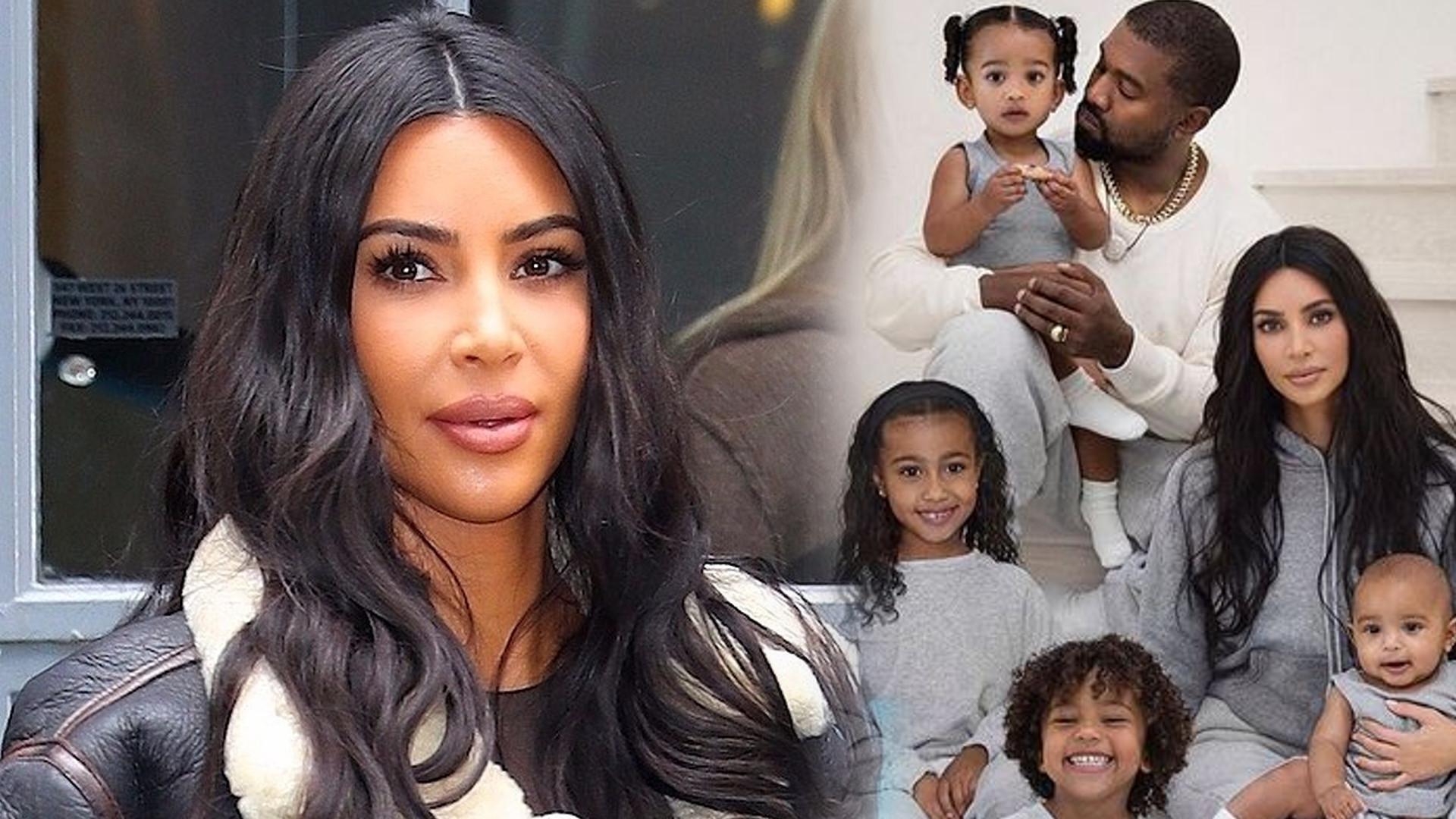 Córka Kim Kardashian ma BLIZNĘ na twarzy. Co się stało?