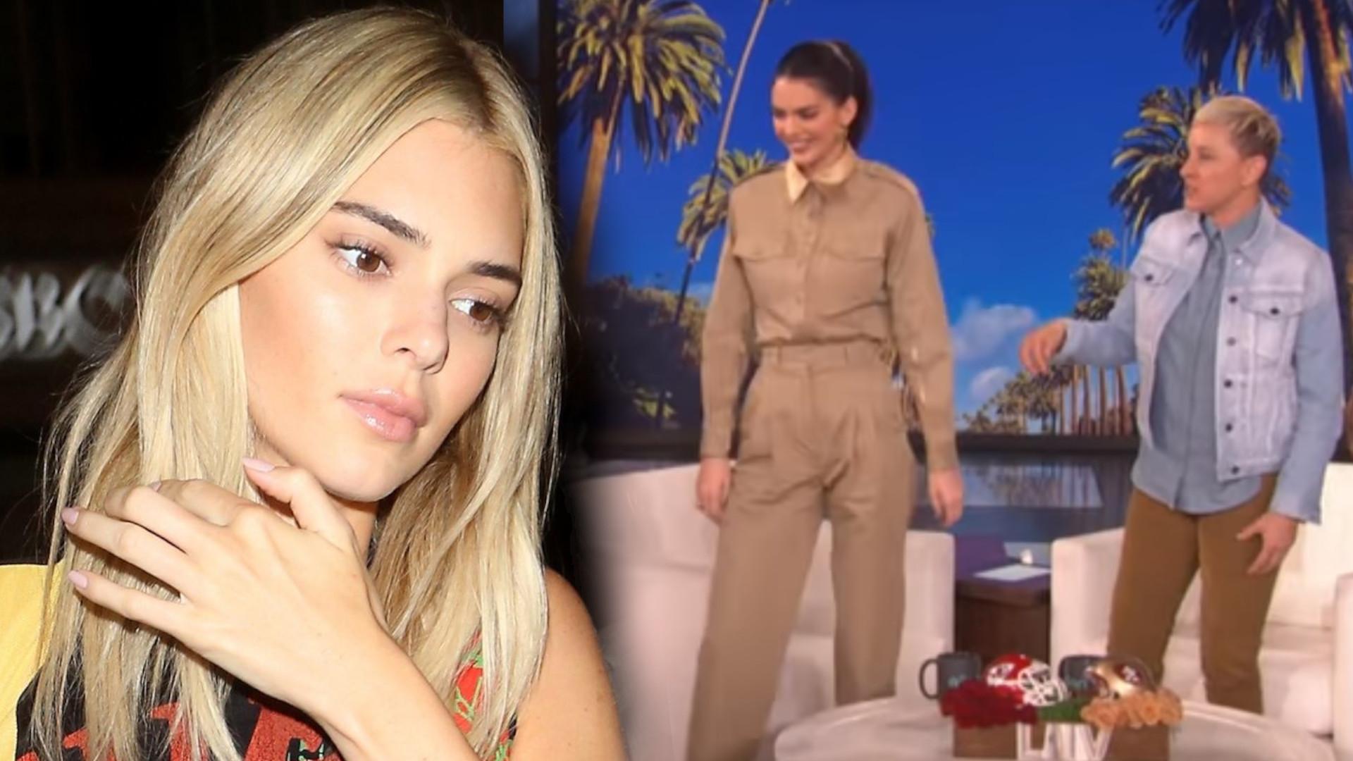 Nikt się nie spodziewał tego po Kendall Jenner. Zrobiła dobre SHOW u Ellen DeGeneres