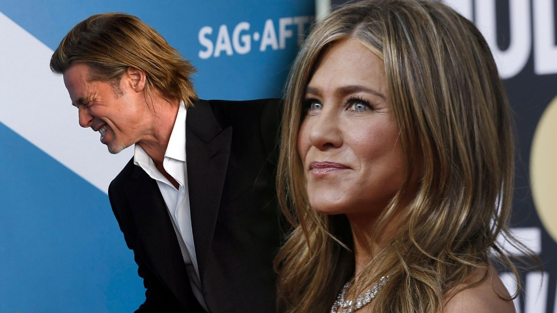 Jest COŚ JESZCZE, co ŁĄCZY Jennifer Aniston i Brada Pitta!