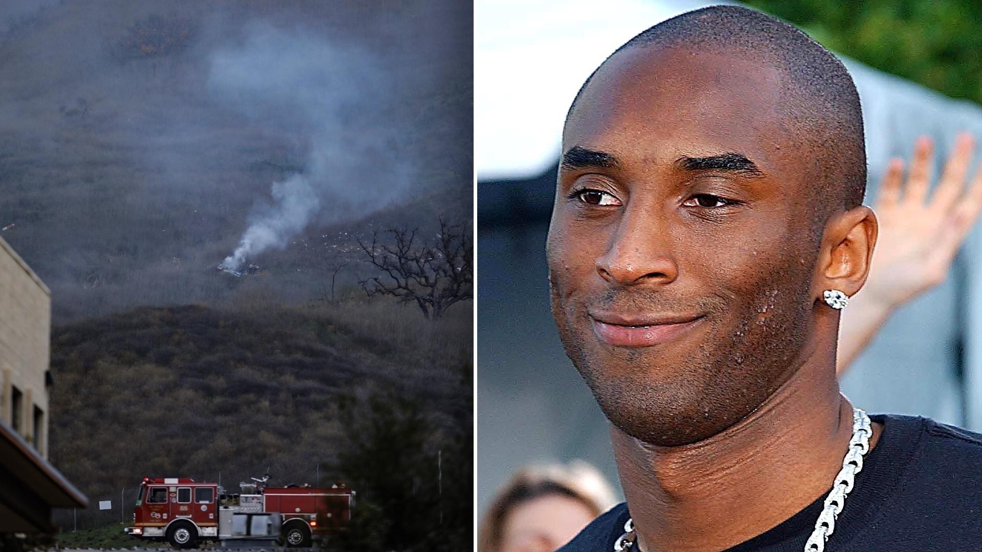 Kobe Bryant, gwiazda NBA, ZGINĄŁ w wypadku – jego helikopter rozbił się w pobliżu domu Kourtney Kardashian (ZDJĘCIE)